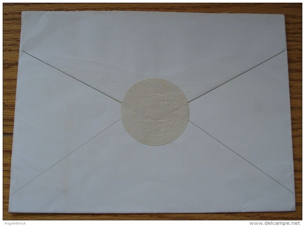 LETTER ENVELOPE KING GEORGES II HELLENES PRESITENT MARTINEZ ELSALVADOR 1936 - Unclassified