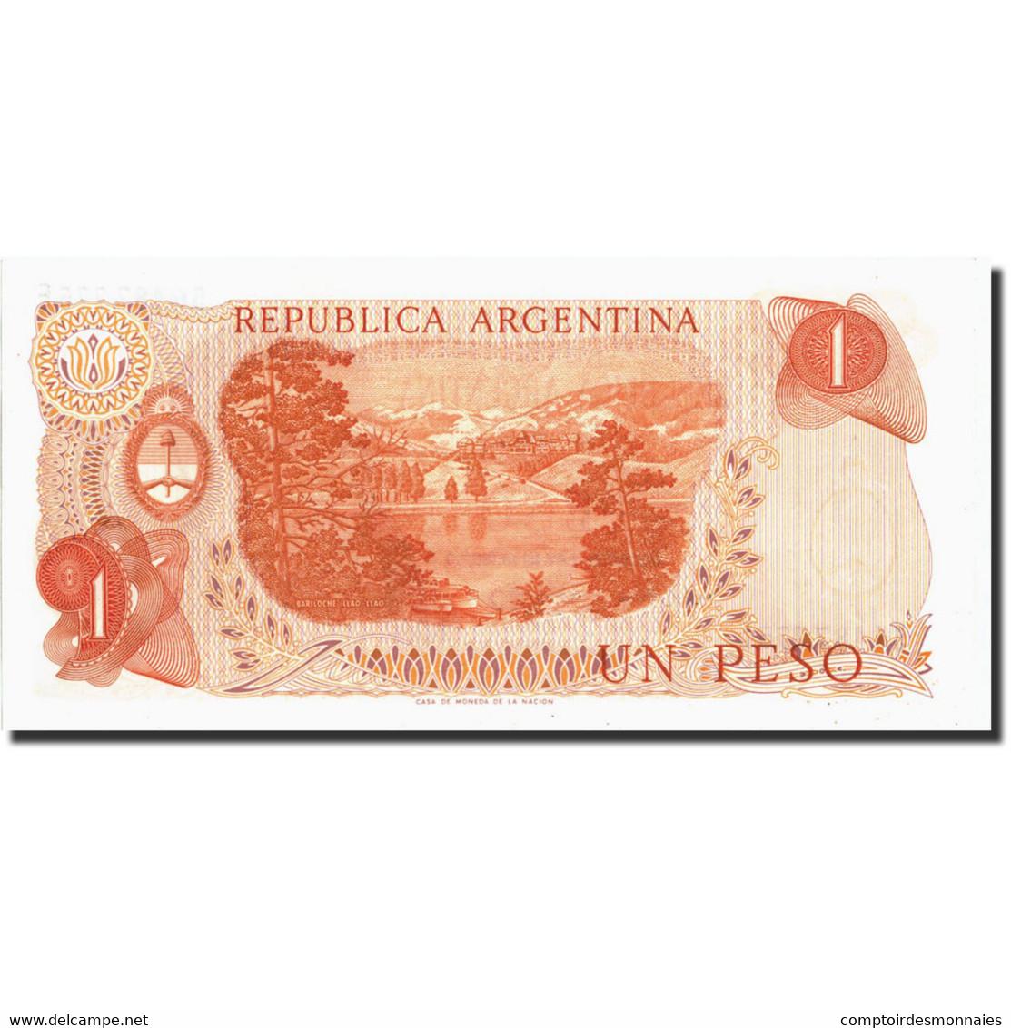 Argentine, 1 Peso, Undated 1974, Undated 1974, KM:293, SPL - Argentine