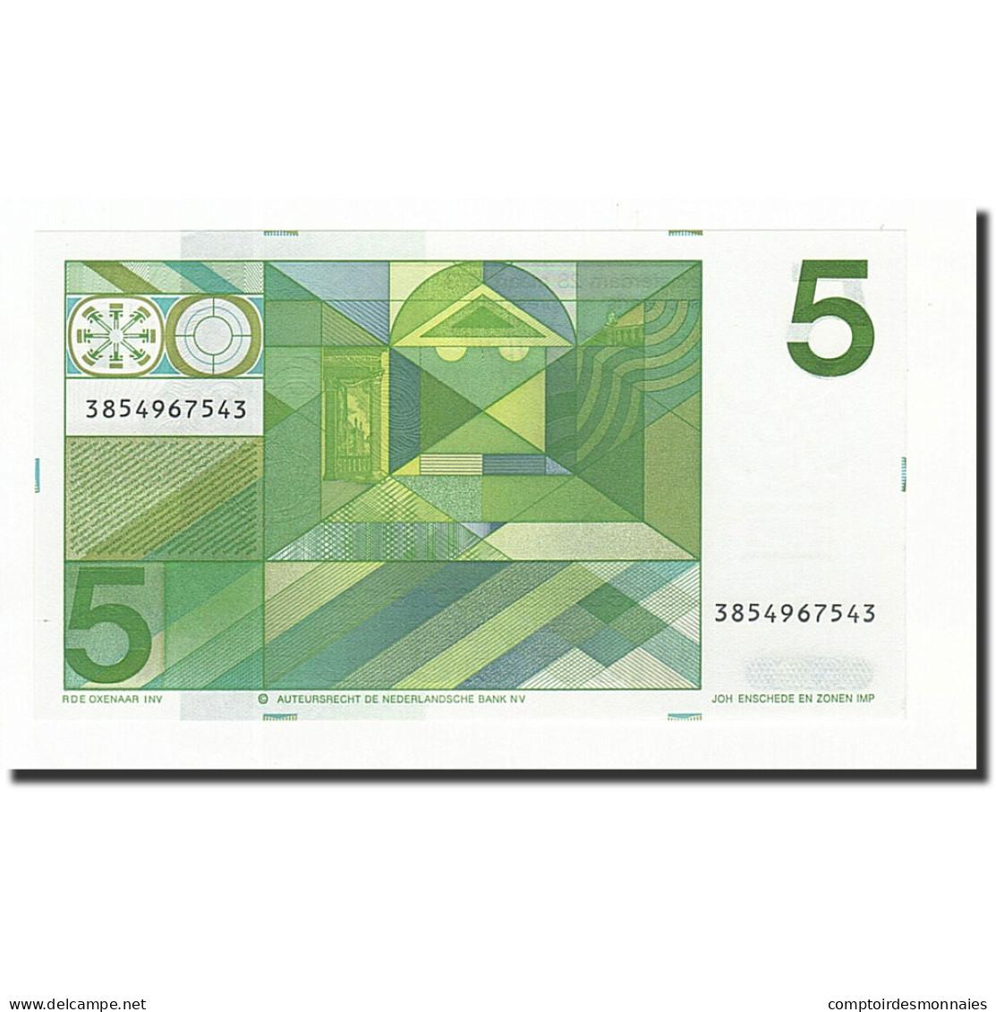 Pays-Bas, 5 Gulden, KM:95a, 1973-03-28, NEUF - 5 Florín Holandés (gulden)