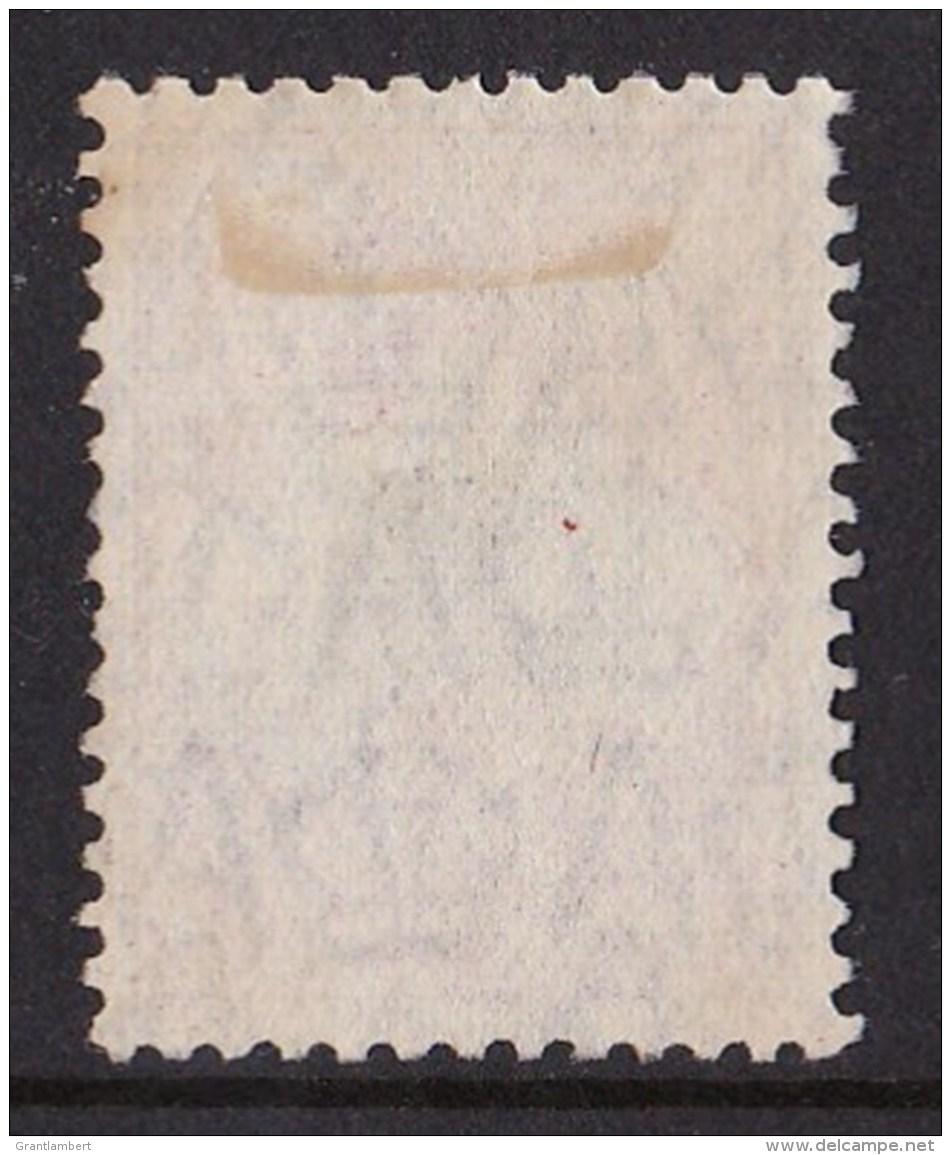 Australia 1929 Kangaroo 10/- Grey & Pink Small Multi Wmk - EWE-FACED Variety - 1913-48 Kangaroos