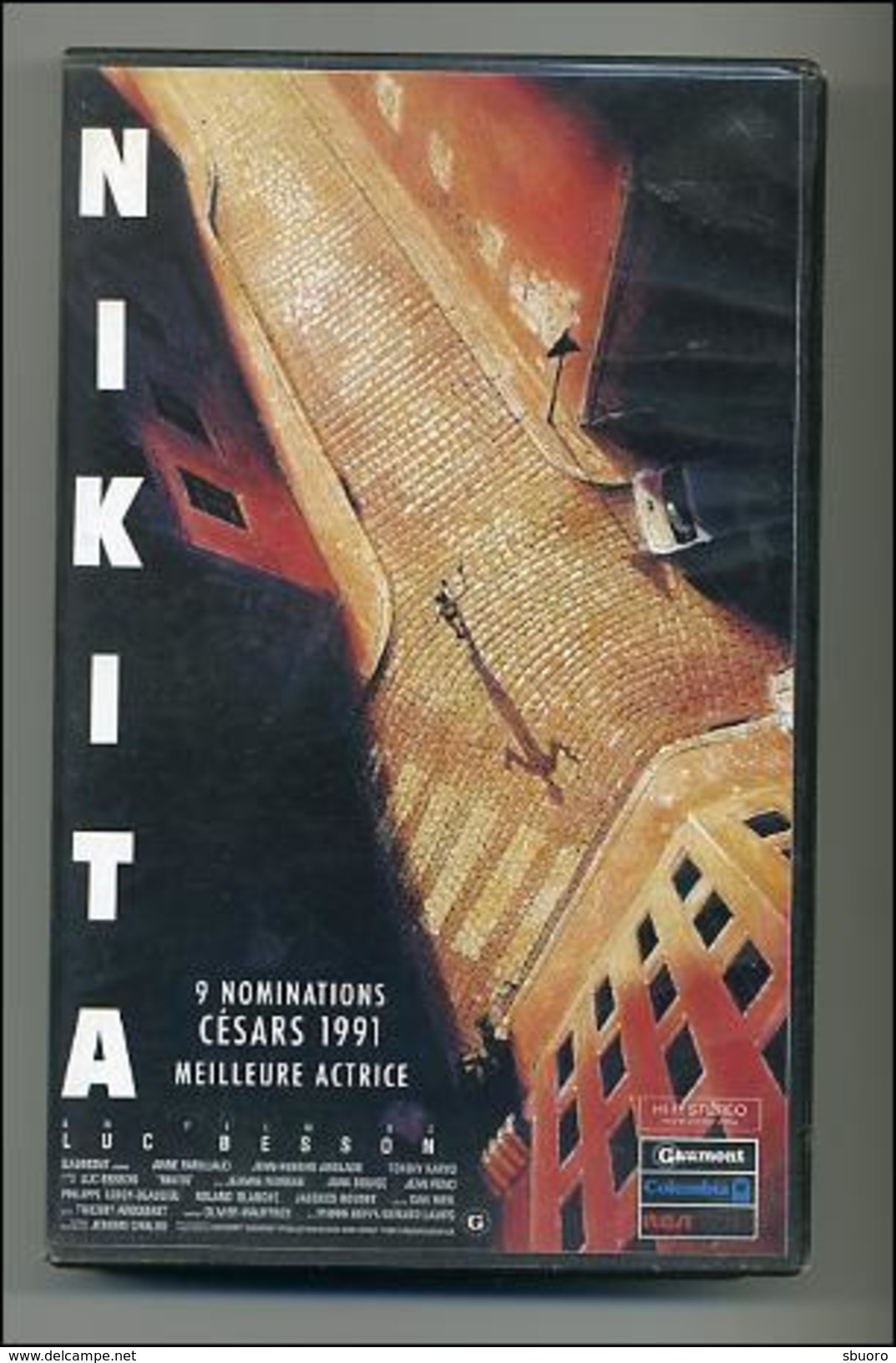 VHS Nikita - Luc Besson - Action, Aventure