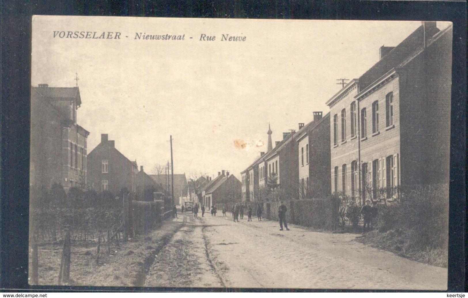 Vorsselaer - Nieuwstraat - Rue Neuve - 1920 - Belgique