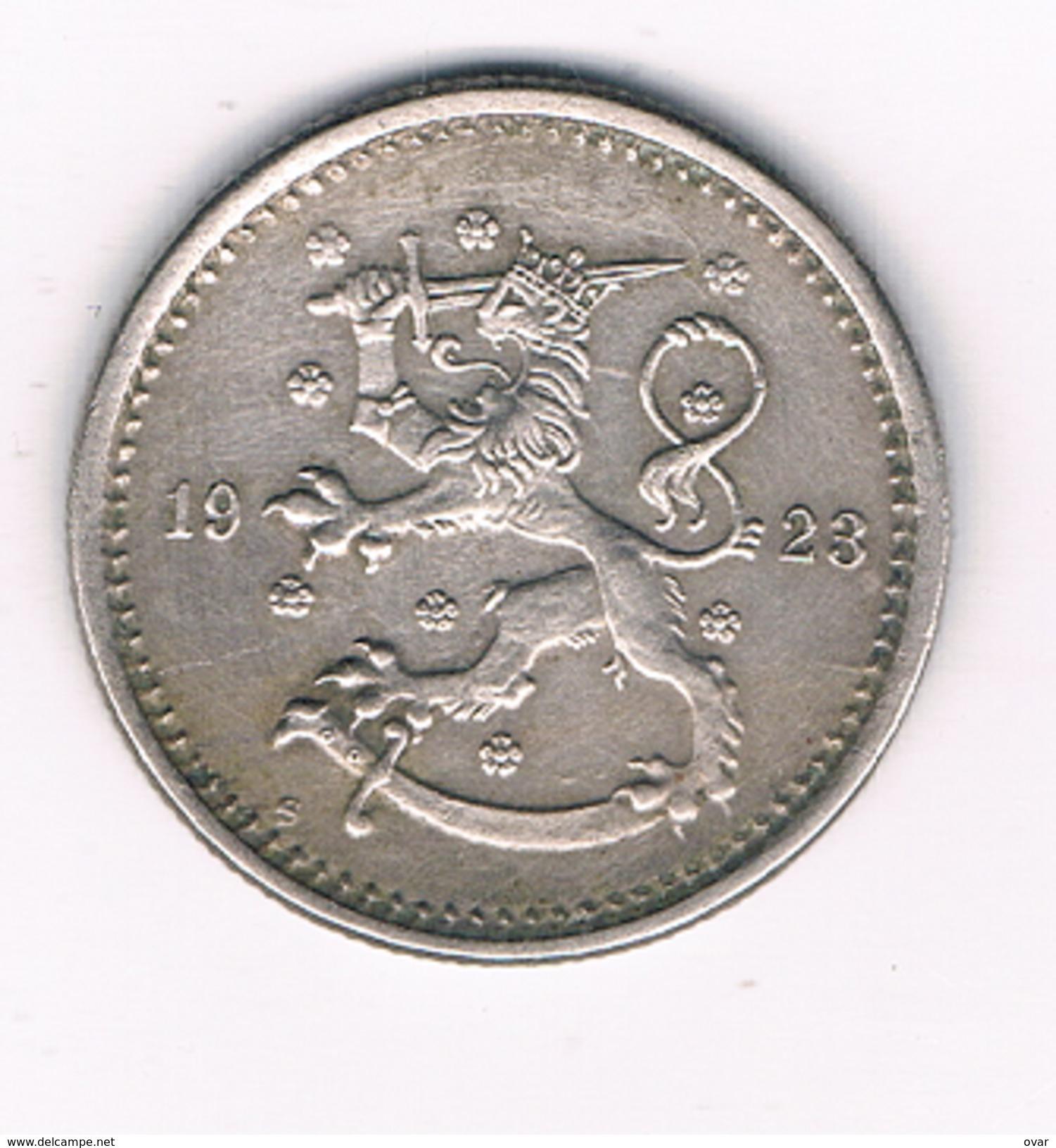 1 MARKKA 1923 FINLAND /1470C/ - Finlande