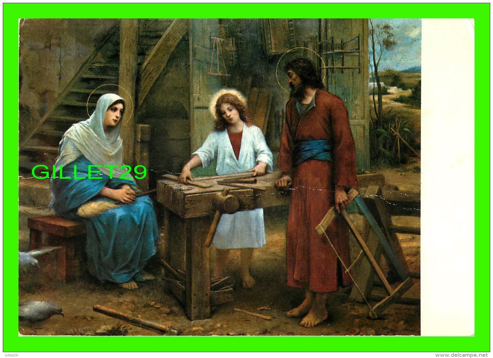 RELIGIONS - LA  FAMILLE SAINTE À NAZARETH - - Saints
