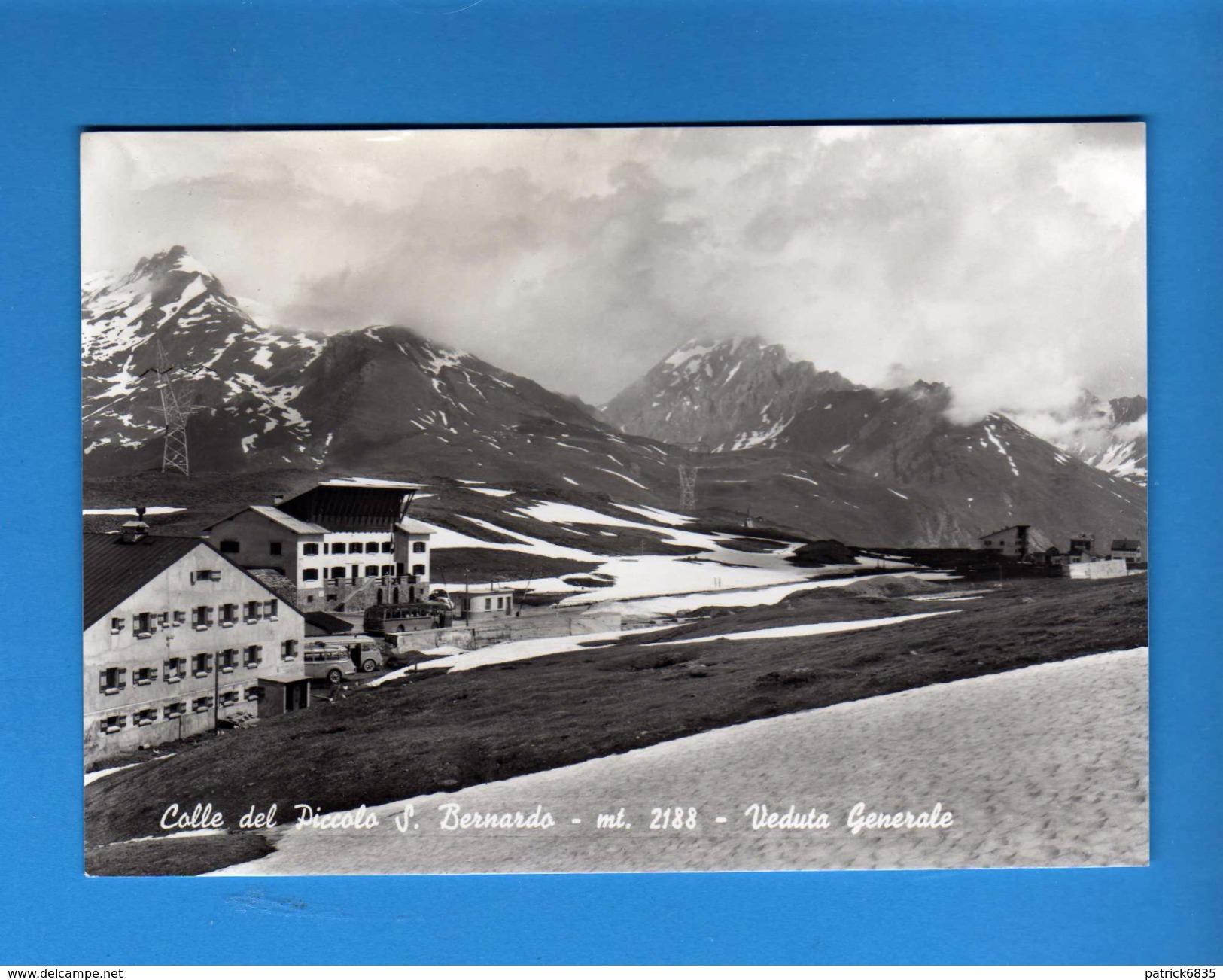 Valle D'Aosta - Colle Del  Piccolo S.Bernardo - Veduta Generale .  Non Viaggiata.  Vedi Descrizione.  (F) - Altre Città