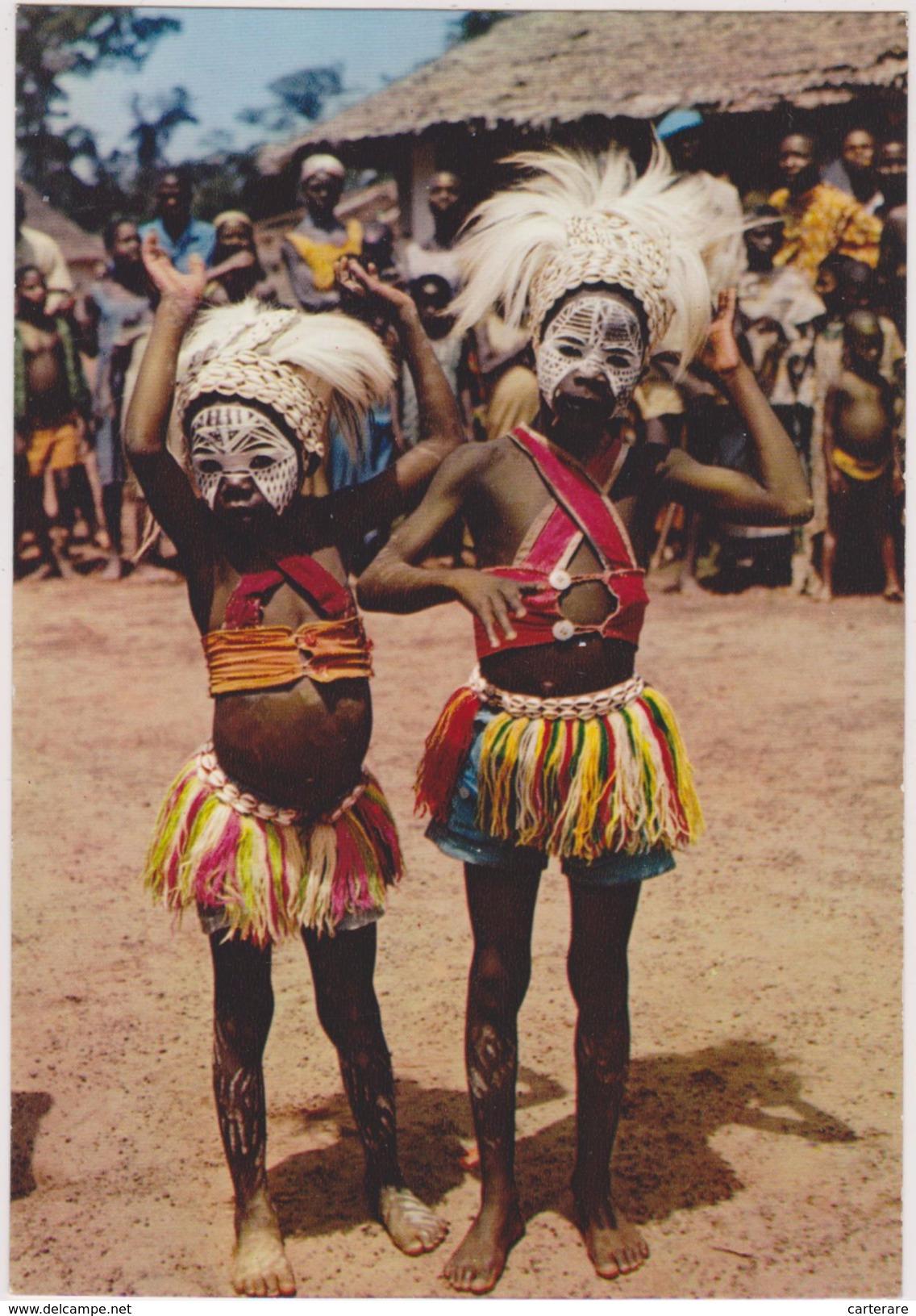 MASQUE AFRICAIN ,african Mask,ENFANT FUTUR SORCIER,PARANORMAL,DEGUISEMENT - Côte-d'Ivoire