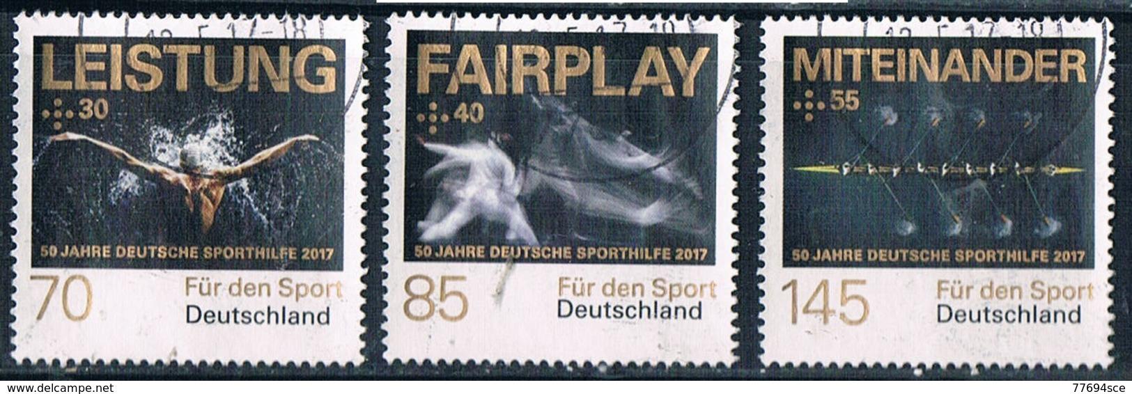 2017  Für Den Sport  (Satz) - [7] République Fédérale