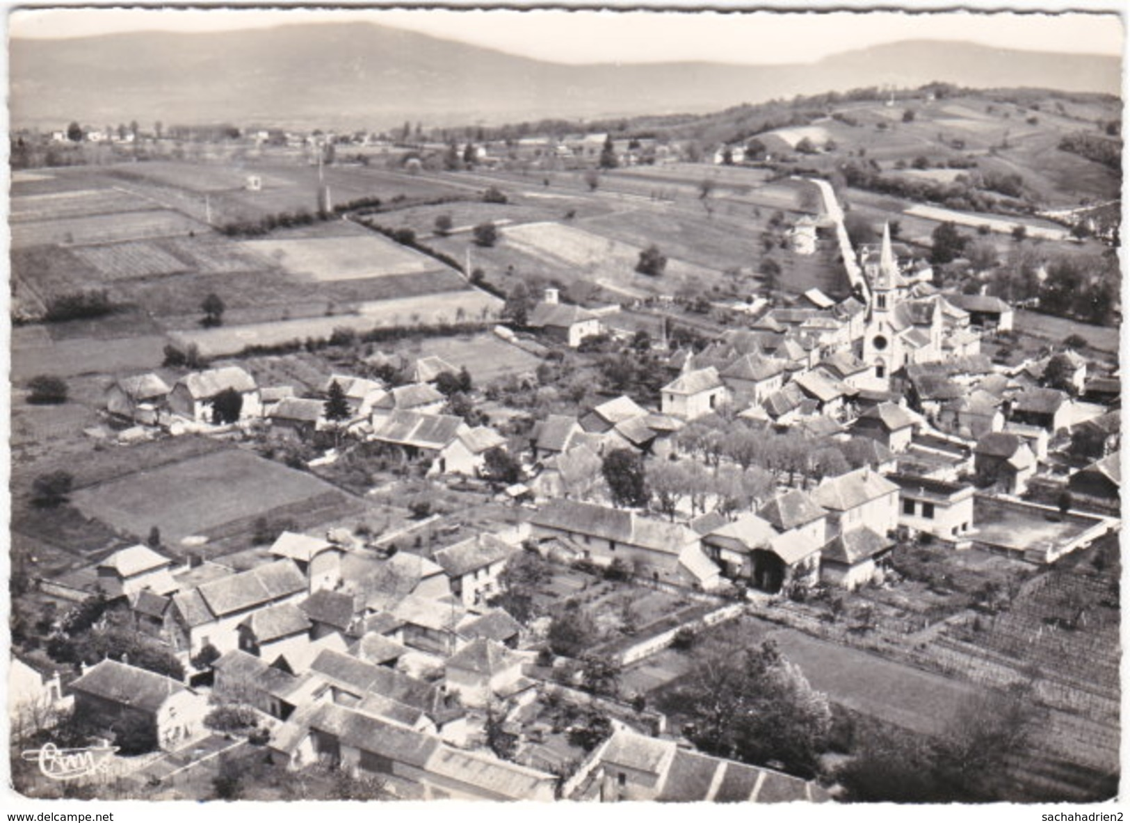 38. Gf. SERMERIEU. Vue Générale. 170-24 - Sonstige Gemeinden