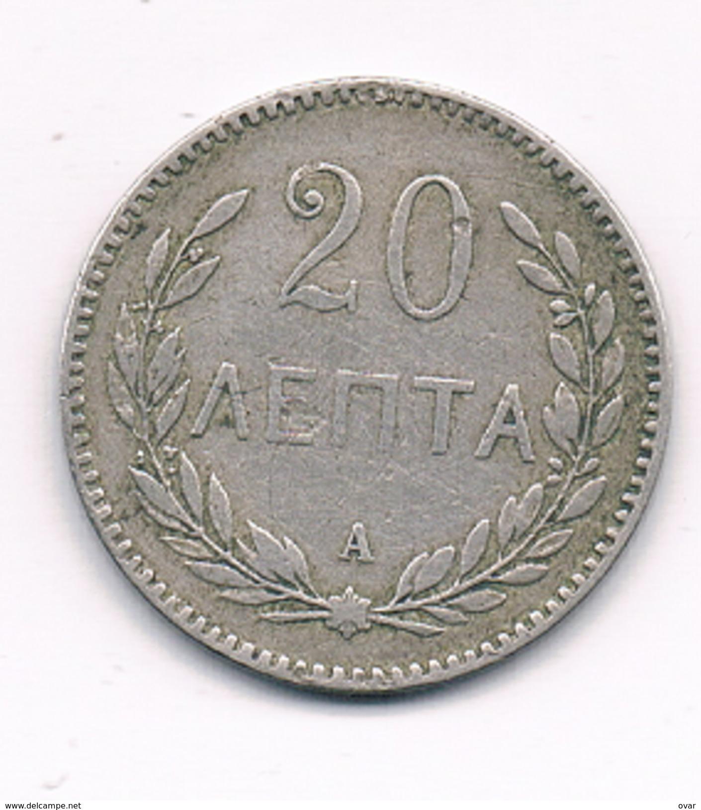 20 LEPTA 1900 GRIEKENLAND /1450C/ - Grèce