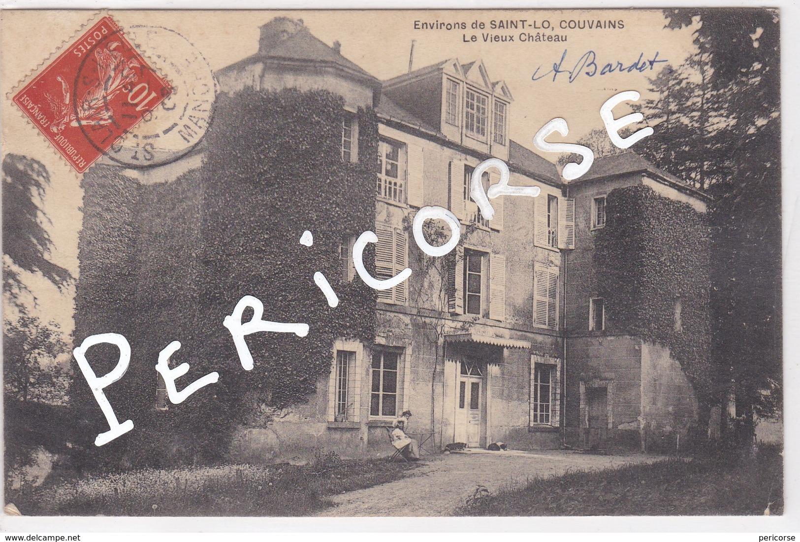 50  Couvains  Le Vieux Chateau - Saint Lo