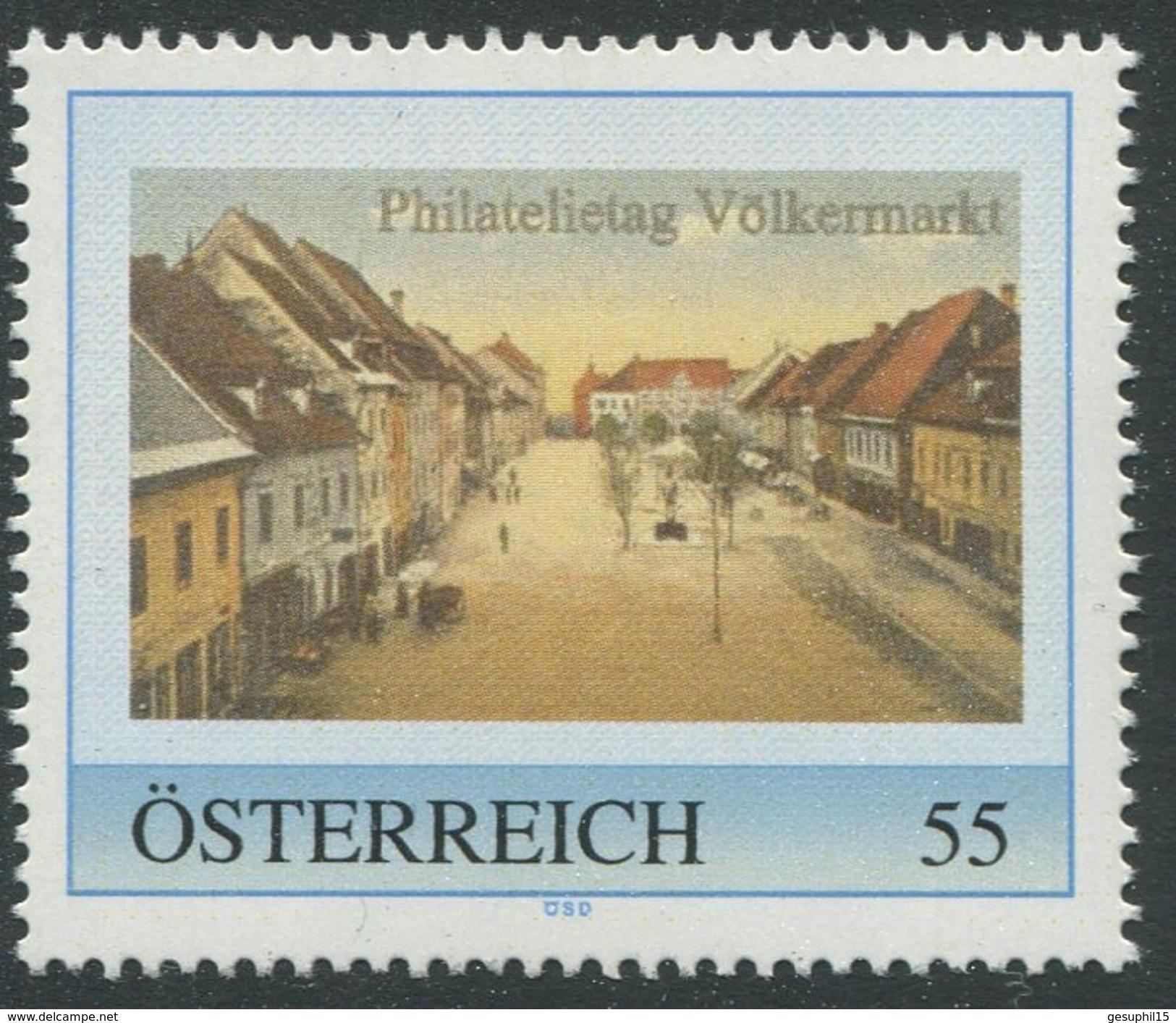 ÖSTERREICH / Philatelietag Völkermarkt / Postfrisch / ** / MNH - Personalisierte Briefmarken