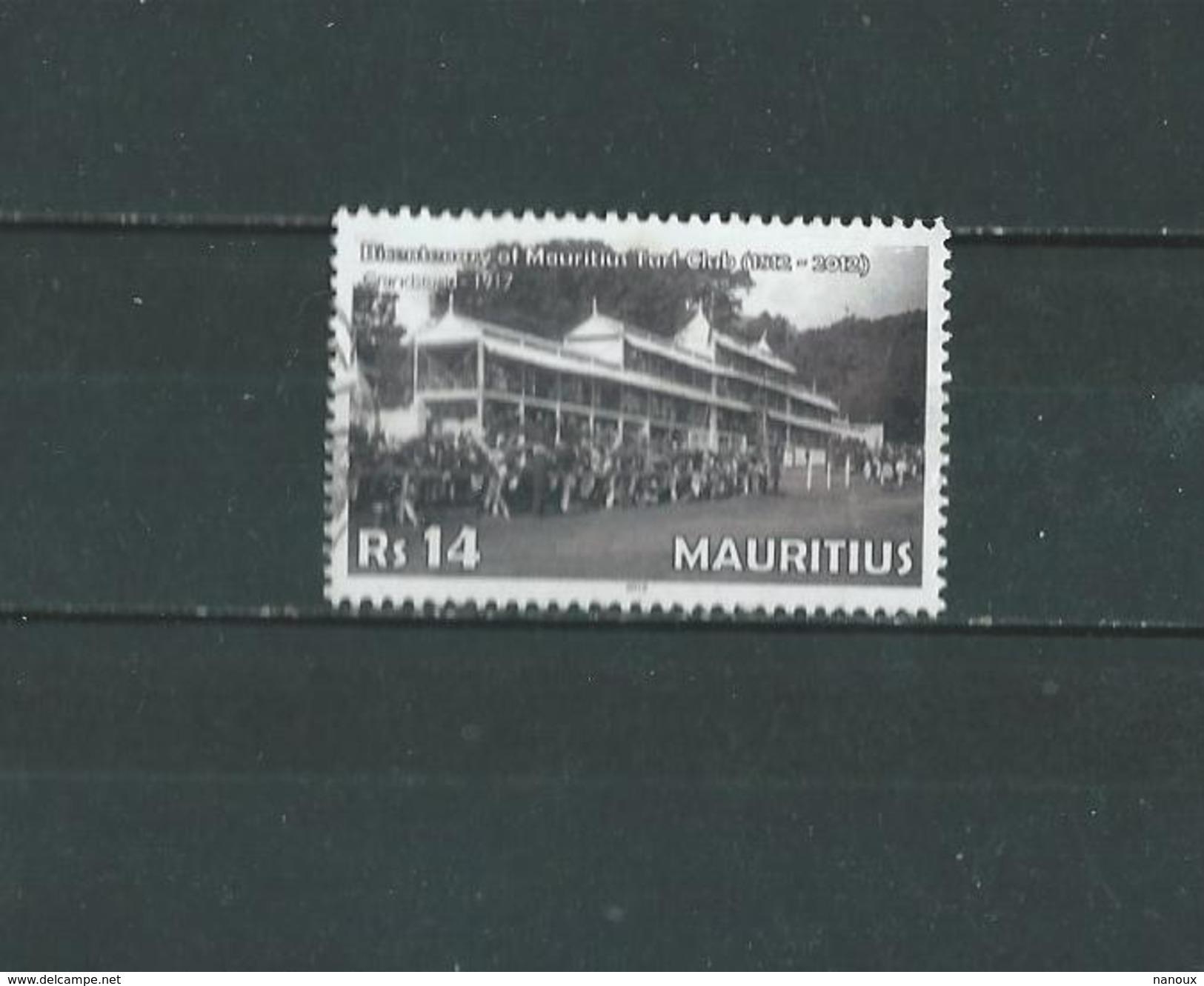 Timbre Oblitére De Ile Maurice 2012 - Mauritius (1968-...)