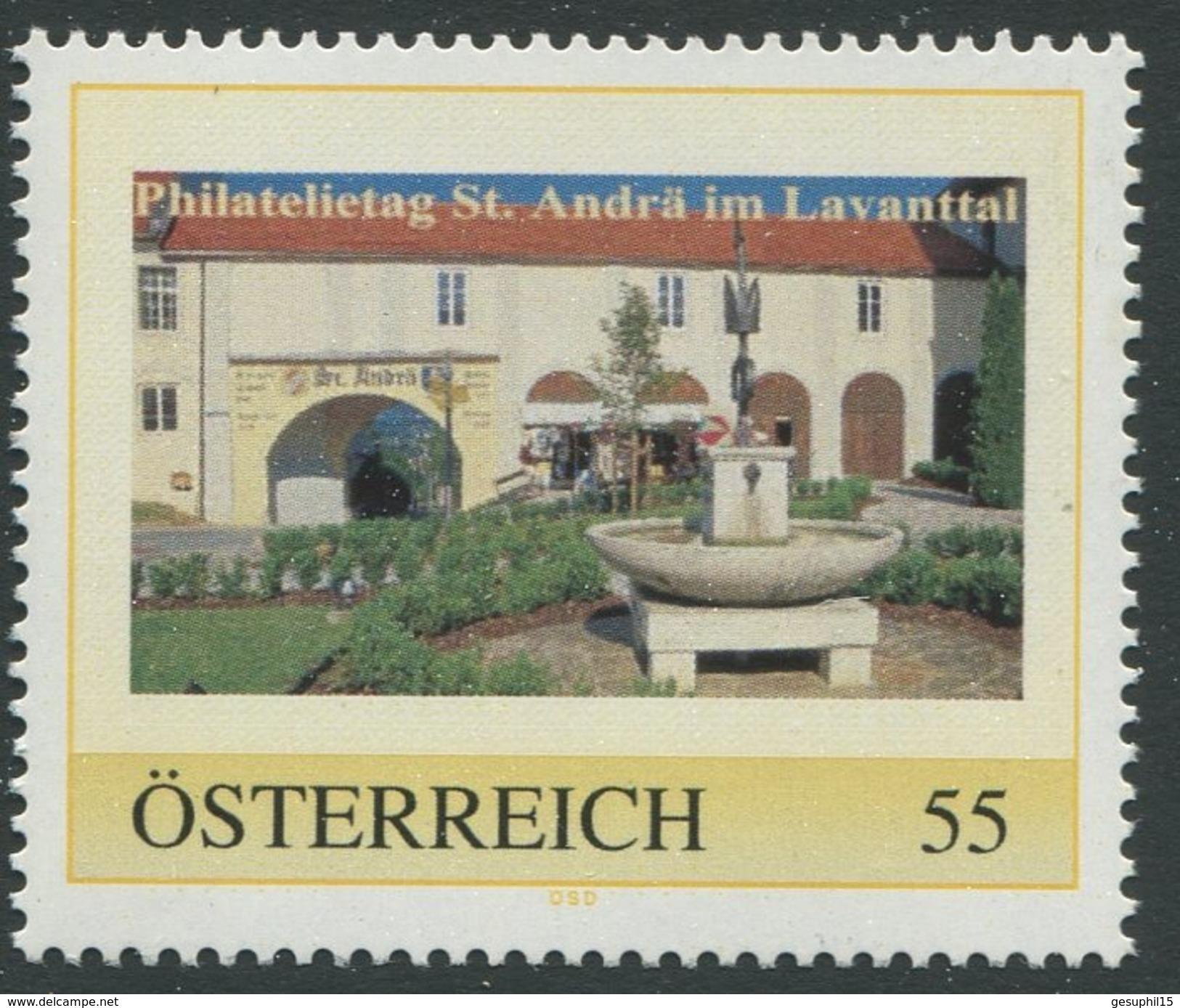 ÖSTERREICH / Philatelietag St. Andrä Im Lavanttal / Postfrisch / ** / MNH - Österreich