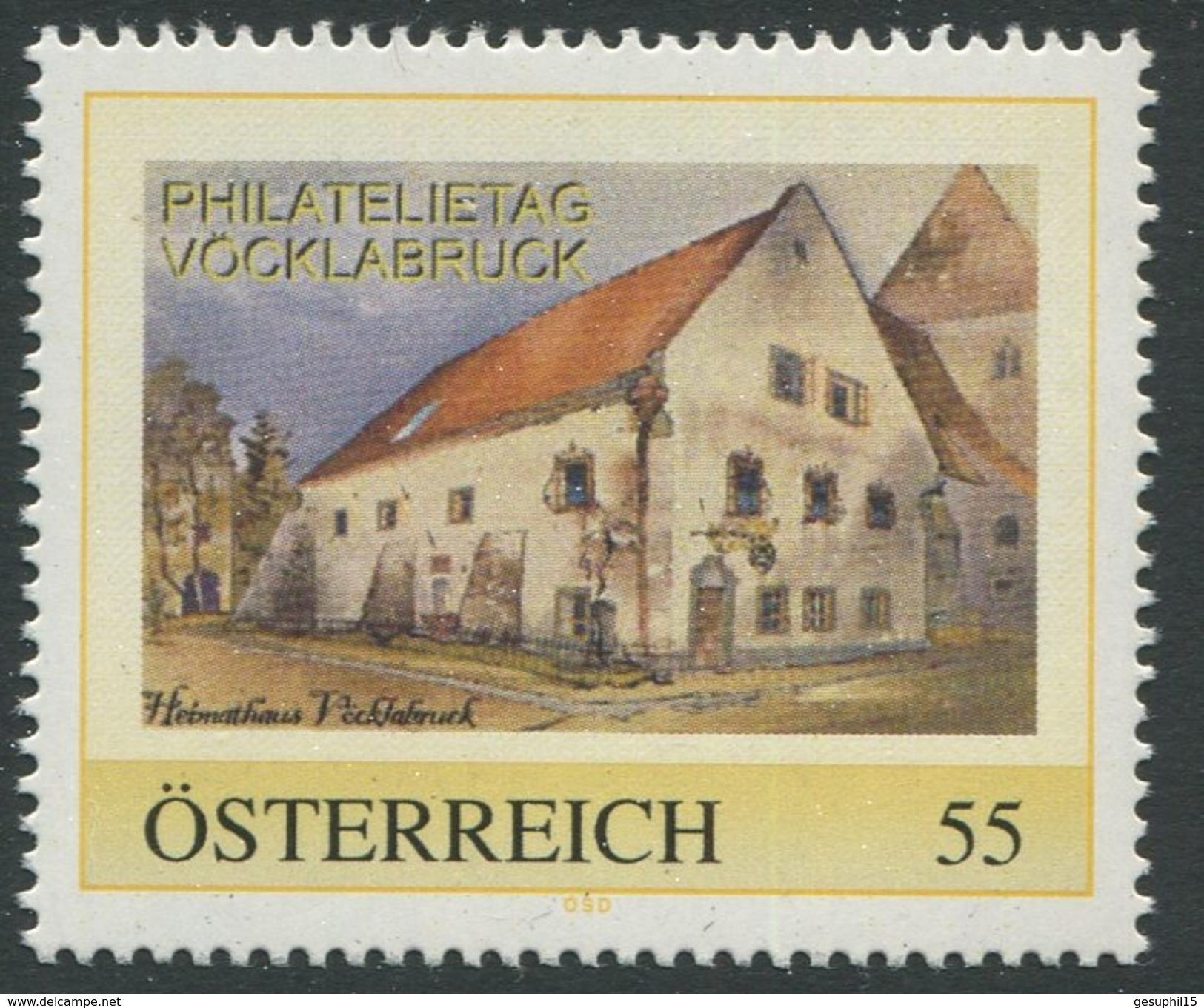 ÖSTERREICH / Philatelietag Vöcklabruck / Postfrisch / ** / MNH - Personalisierte Briefmarken