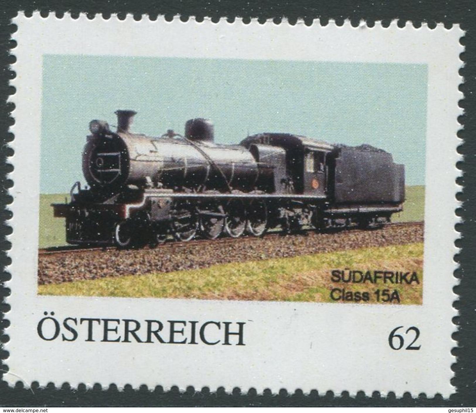 ÖSTERREICH / Lokomotive Südafrika Class 15A / Postfrisch / ** / MNH - Österreich