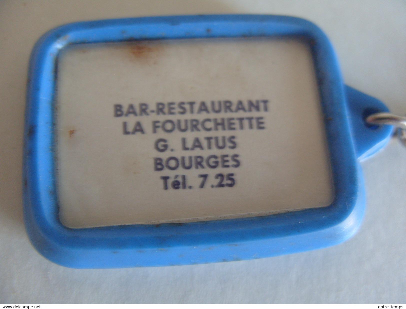 Bourges Café Restaurant Routier La Fourchette Latus Propriétaire - Porte-clefs