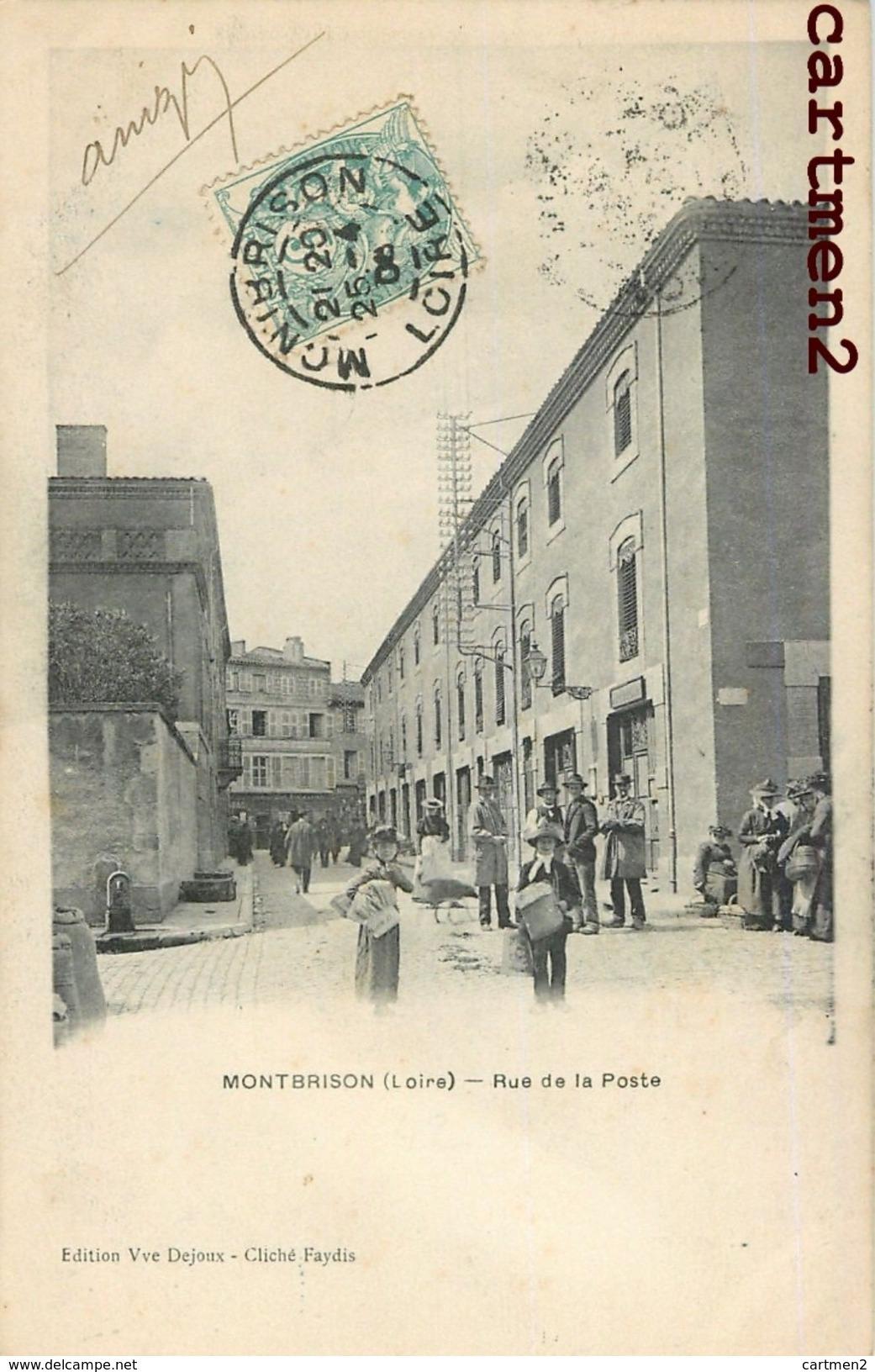 MONTBRISON RUE DE LA POSTE 42 - Montbrison