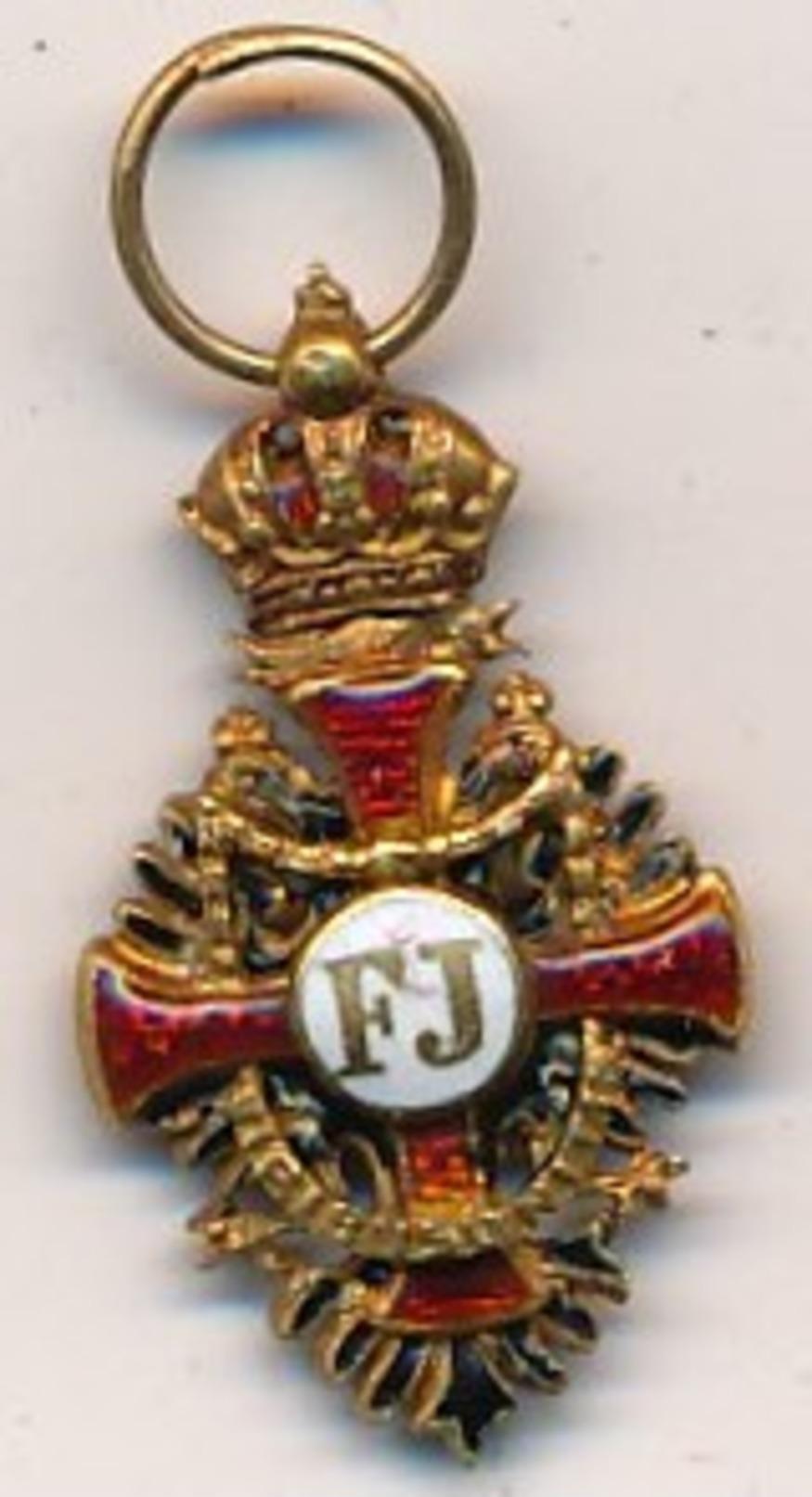 AUTRICHE - Ordre De François-Joseph - 1849 - Réduction - Autriche
