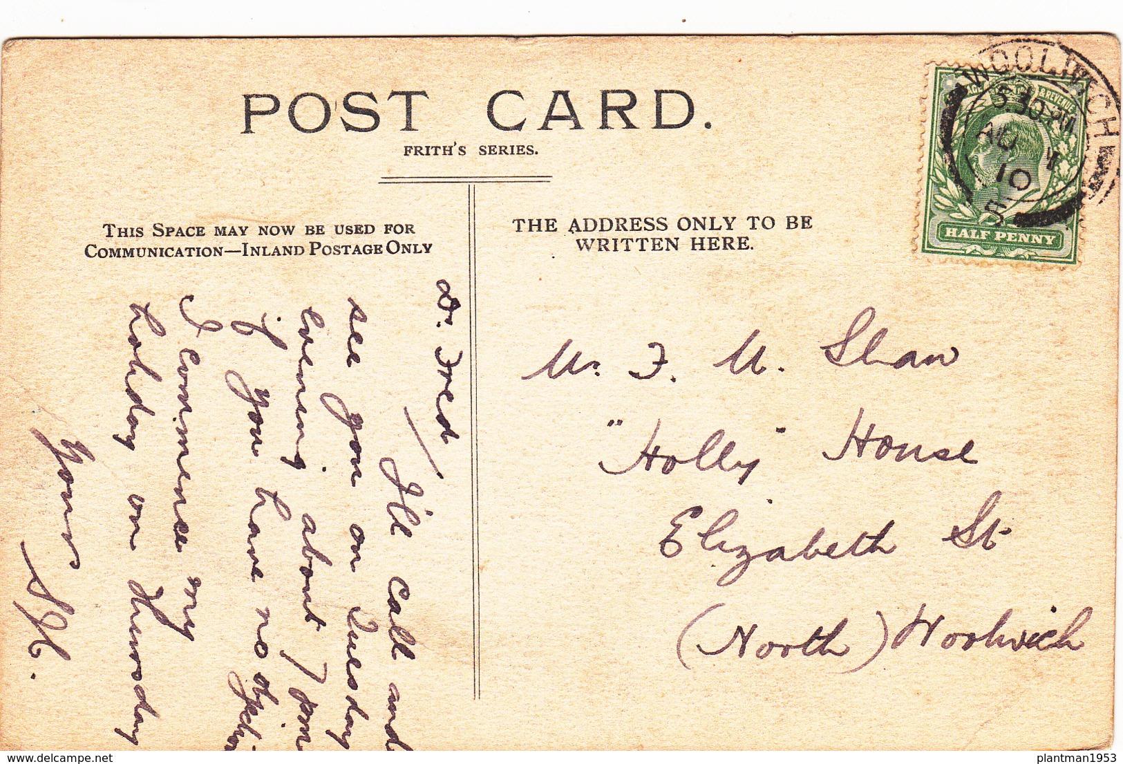 Old Postcard Of Stone Bridge,Horner,Somerset, England.Posted,Y17. - England