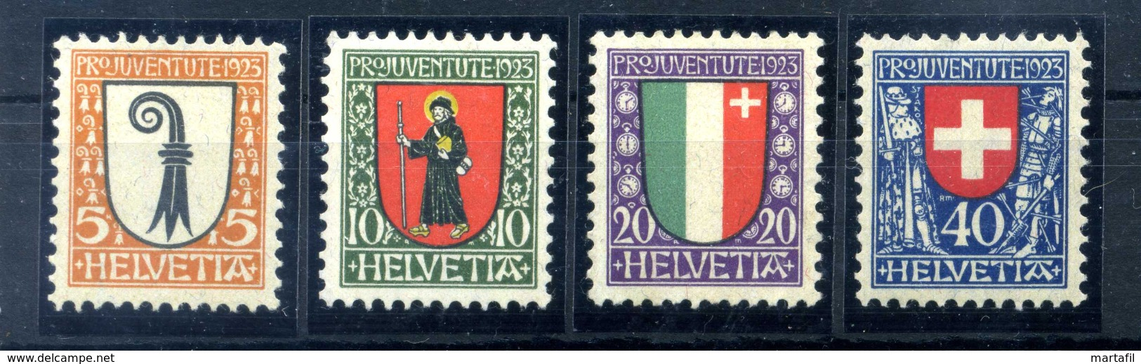1923 SVIZZERA SERIE COMPLETA * - Svizzera
