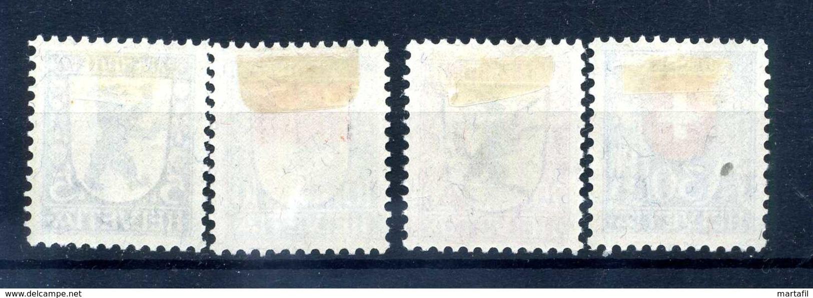 1924 SVIZZERA SERIE COMPLETA * - Svizzera
