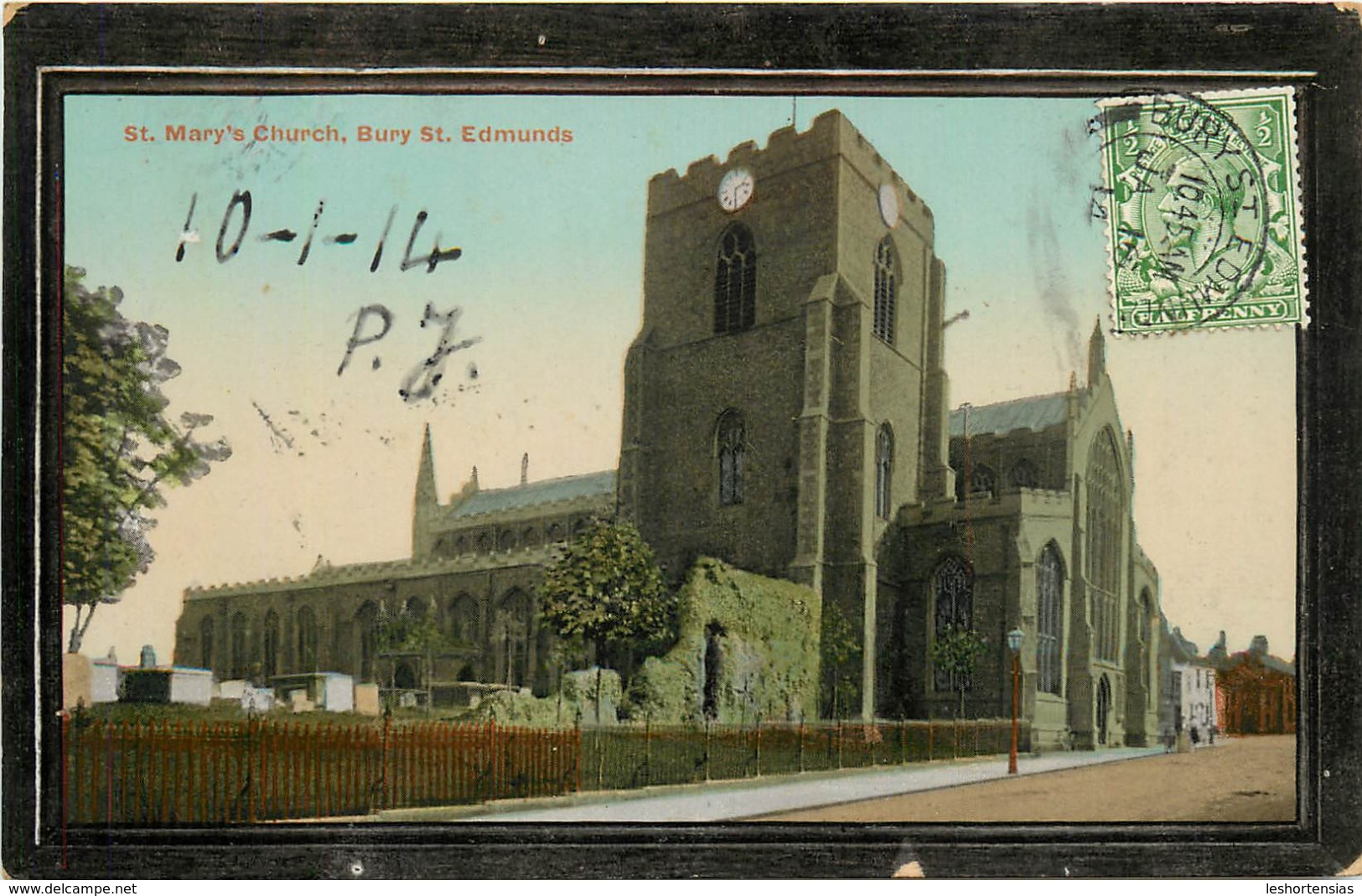 ST MARY'S CHURCH BURY ST EDMUNDS - Angleterre