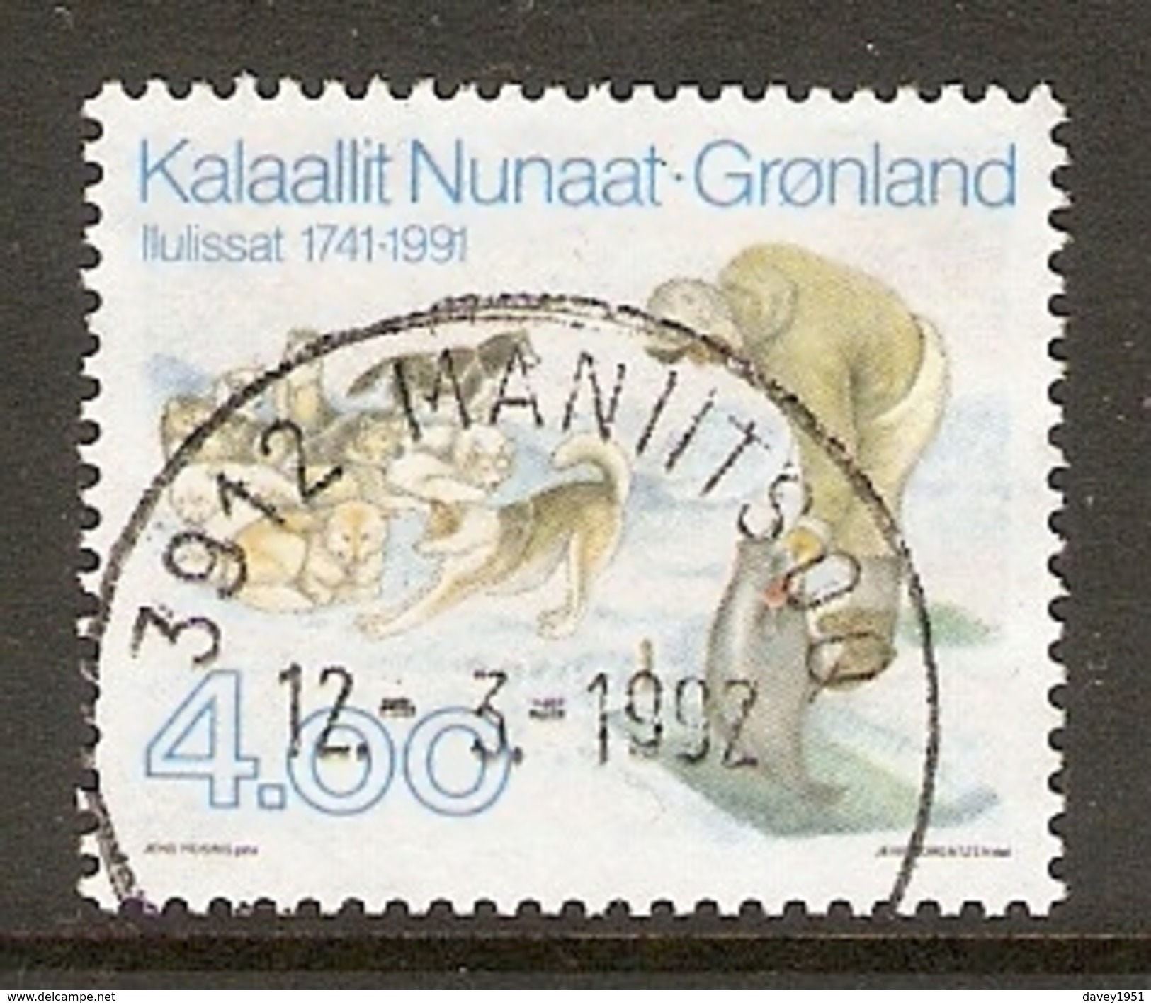 004099 Greenland 1991 Ilulissat 4K FU - Groenlandia