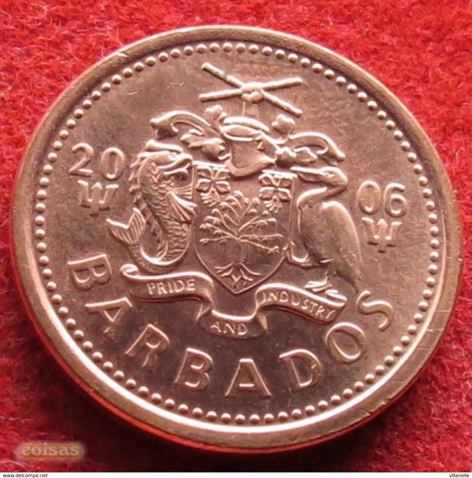 Barbados 1 Cent 2006 KM# 10a  Barbades Barbade - Barbades
