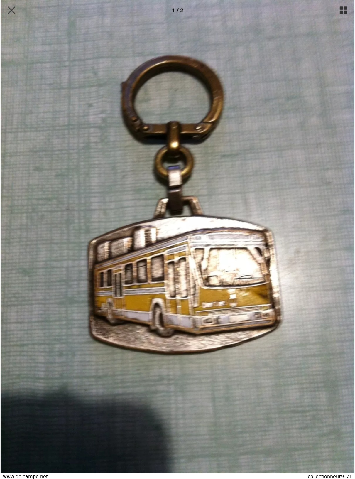 Ancien Porte Clés Berliet - Porte-clefs