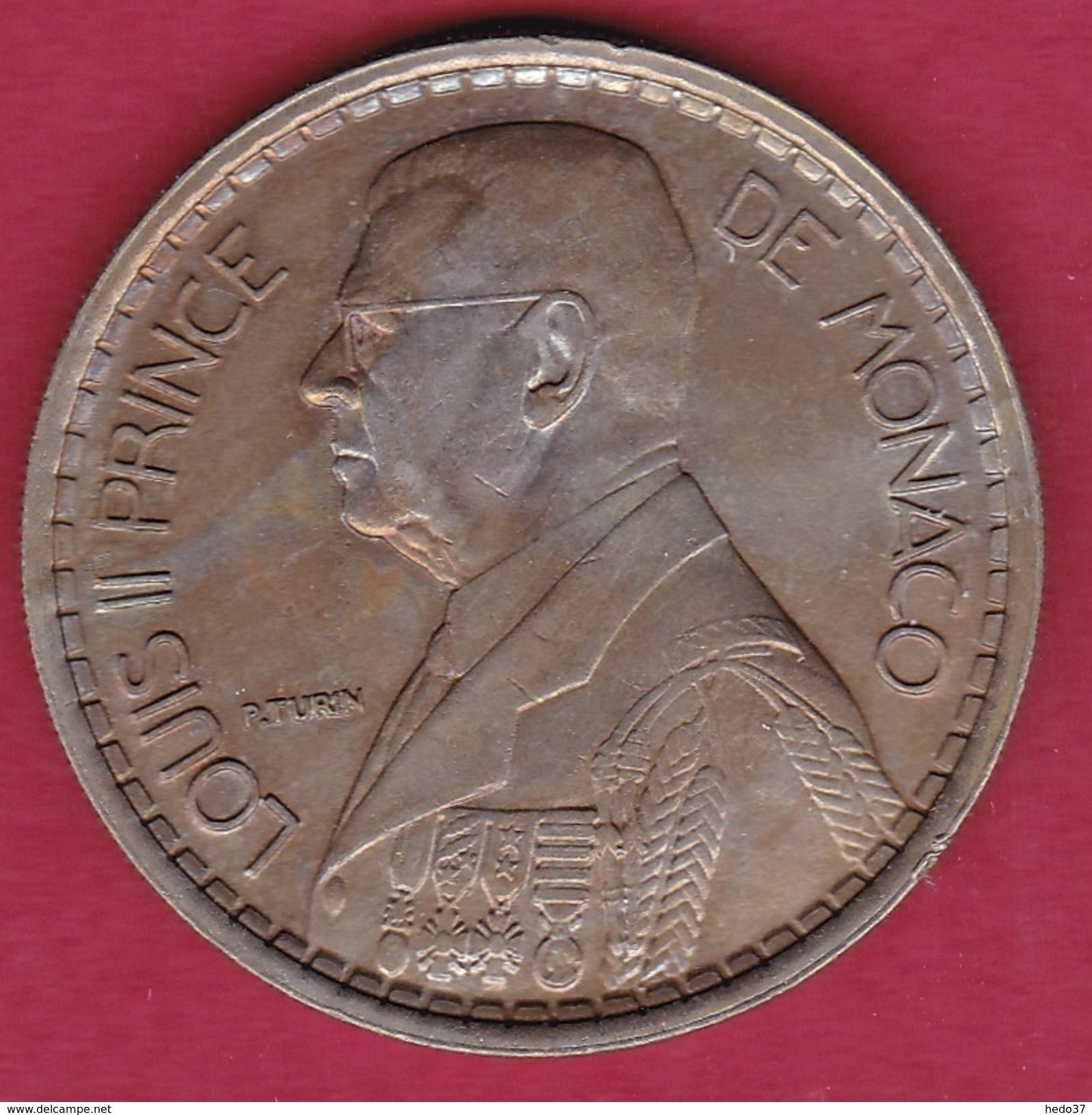 Monaco - Louis II - 20 Francs - 1947 - SUP - Monaco