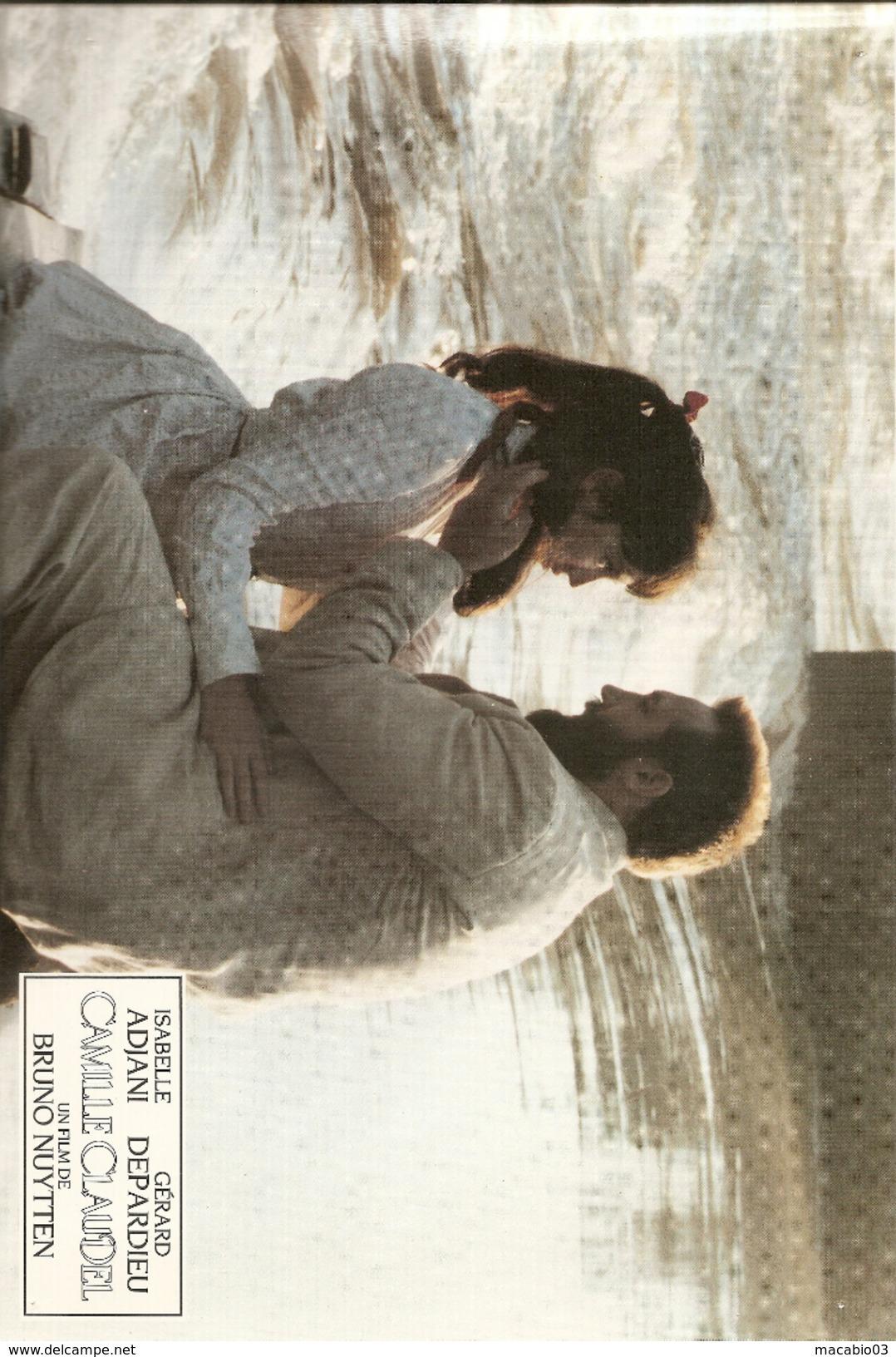 Photo Du Film   Camille Claudel Avec Isabelle ADJANI Et Gérard DEPARDIEU Réf A8 - Posters