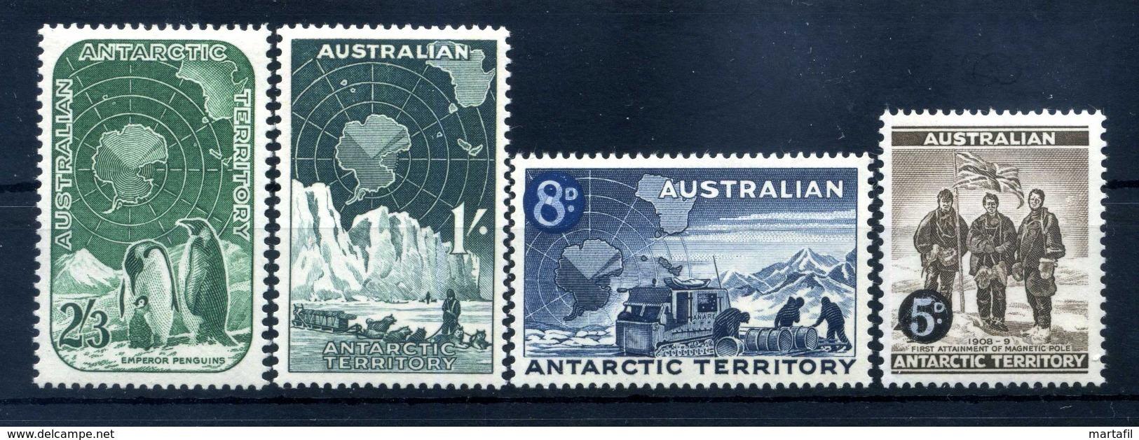 1959 TERR. ANT. AUSTRALIANO SERIE COMPLETA MNH ** - Unused Stamps