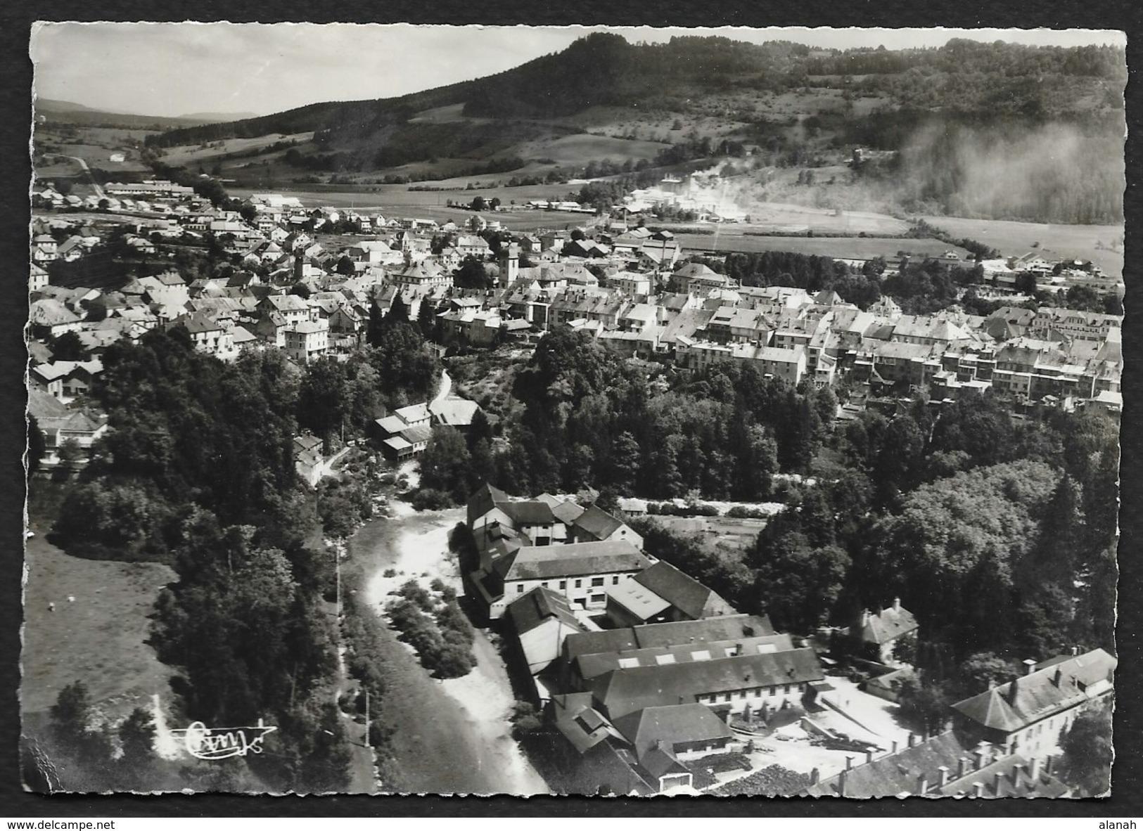 CHAMPAGNOLE Vue Panoramique Aérienne (Combier) Jura (39) - Champagnole