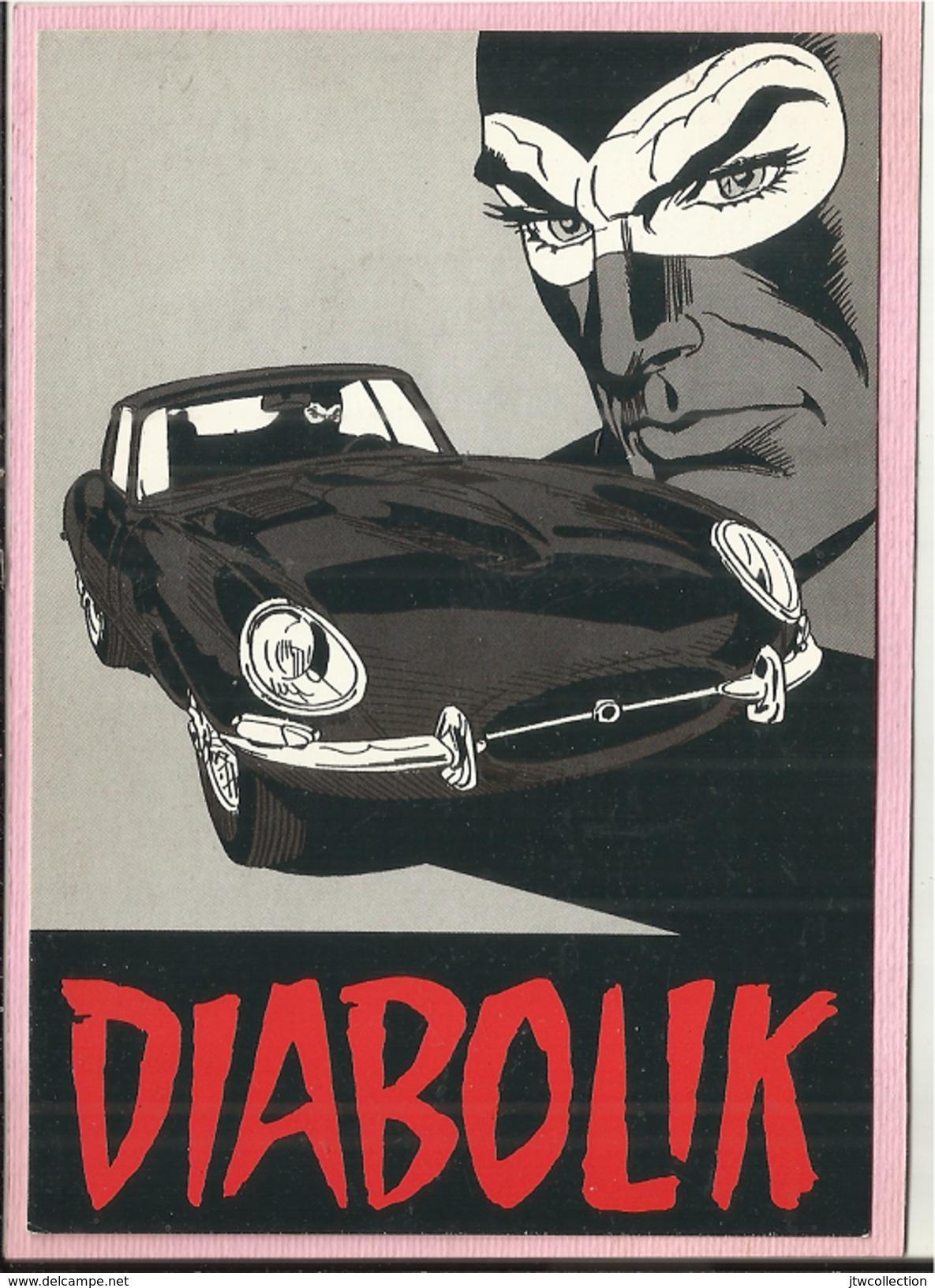 Diabolik - Non Viaggiata - Fumetti