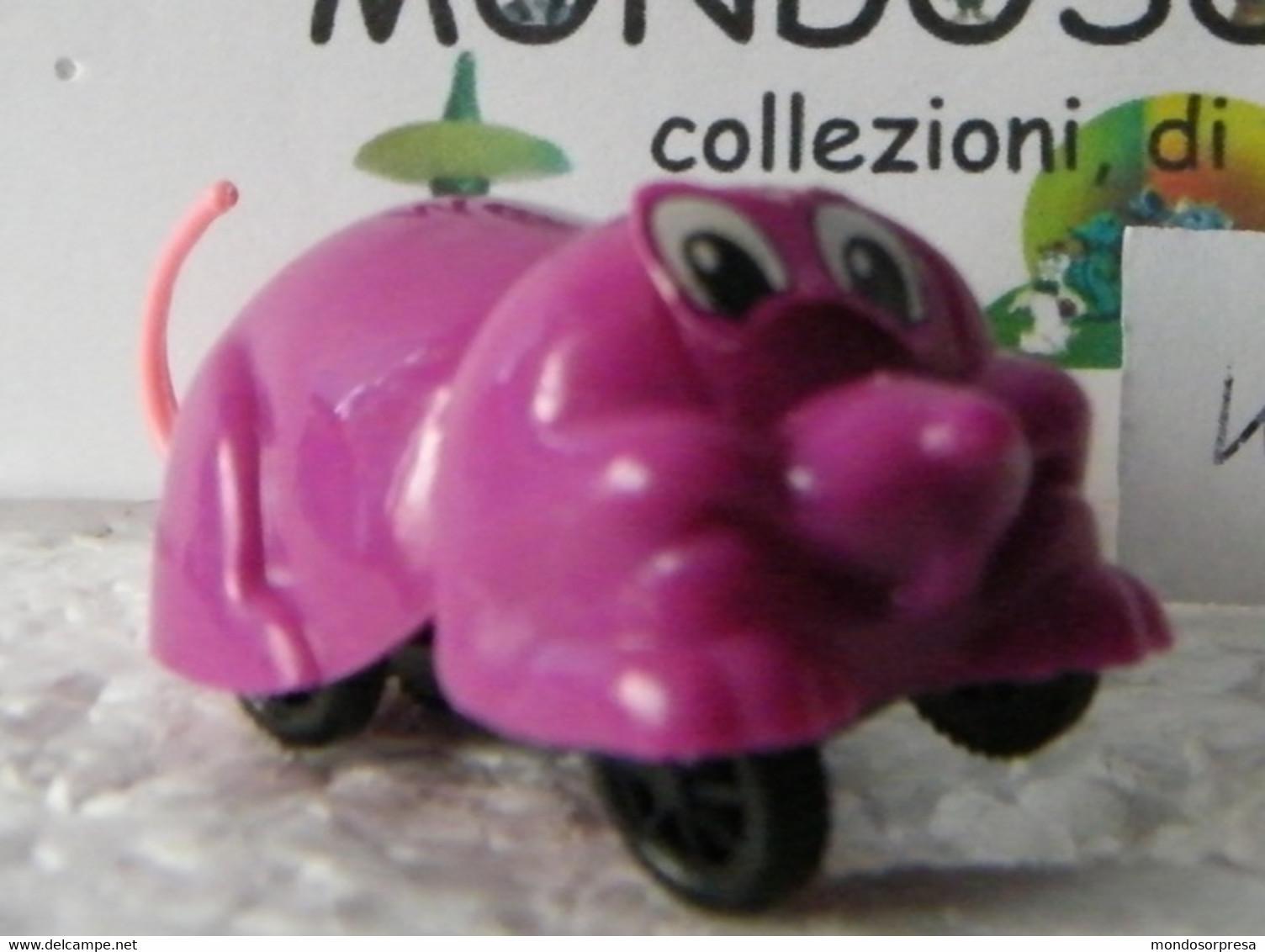 MONDOSORPRESA, (SC95-24) FERRERO, TOPOLINO AUTOMOBILE, PER RECUPERO PEZZI, MANCA ORECCHIE  K95 N81 - Mountables