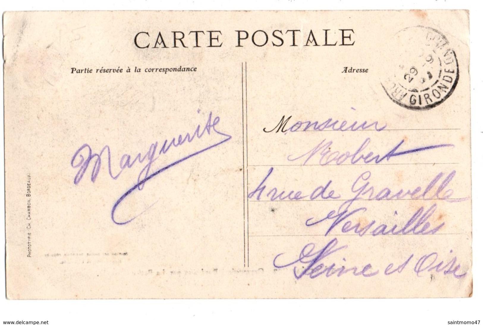 """33 - Bordeaux . Fête Des Vendanges . """" CHAR DE L'ARMAGNAC """" - Réf. N°2587 - - Bordeaux"""