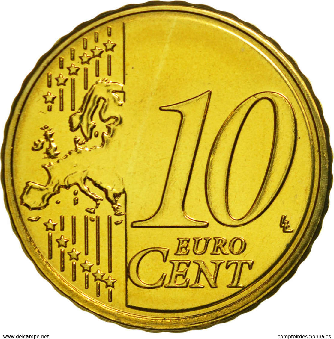 Malte, 10 Euro Cent, 2011, SPL, Laiton, KM:128 - Malta