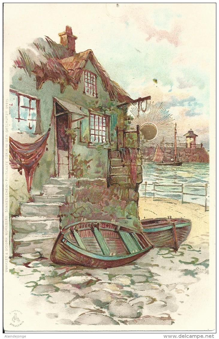 Winkler & Shorn Sonnenschein Serie 99115 - Cartes Postales