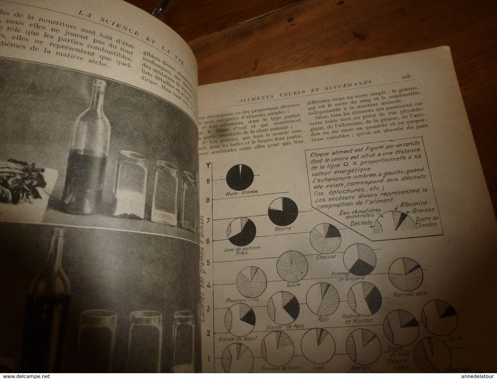 1917 LSELV :Valeur Réelle Des Aliments Et Succédanés (Louis Lapicque Pro D'hist Naturelle); NICKEL (par Charles Lordier) - Minerals