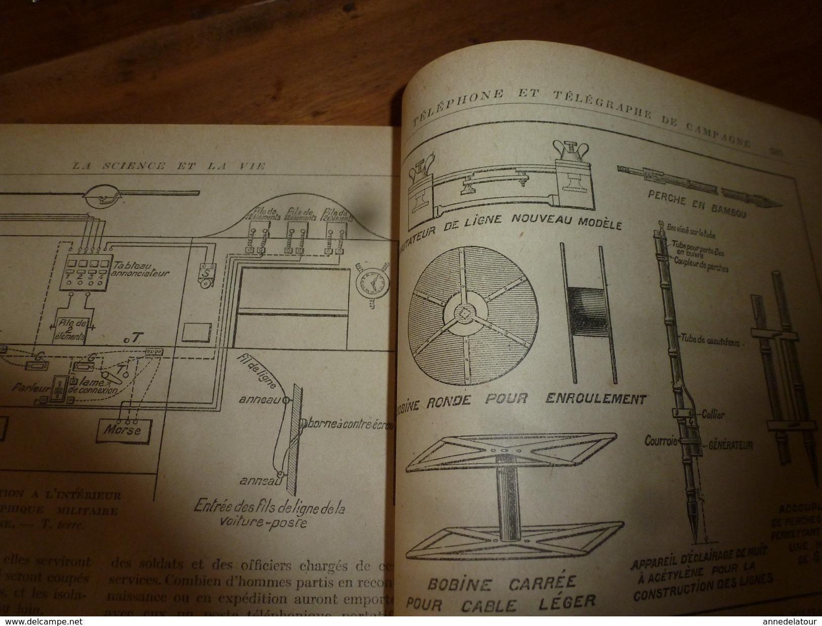 1917 LSELV :Fourgons-viviers Pour Transport Du Poisson(de Frédéric Chaumenton);Téléphonie Militaire(Isidor Recoulier) - Telephony