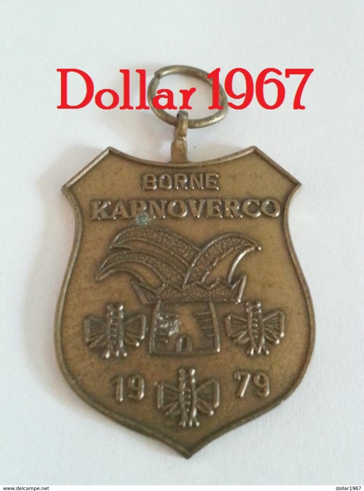 Medaille :Netherlands- Borne Karnoverco 1979  - Stichting Borns Carnaval) / Stichting Born's Carnival - Nederland