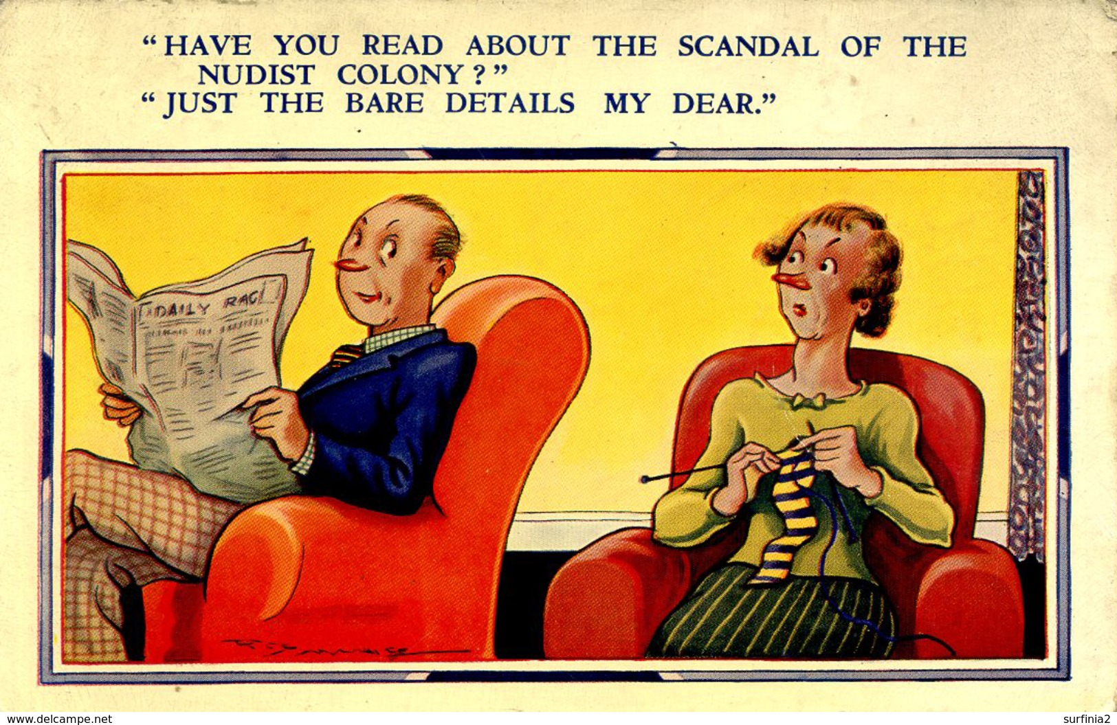 COMIC - HAVE YOU READ....?  By REG MAURICE? Com354 - Comics