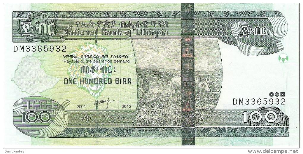 Ethiopia - Pick 52 - 100 Birr 2004-2012 - Unc - Ethiopie