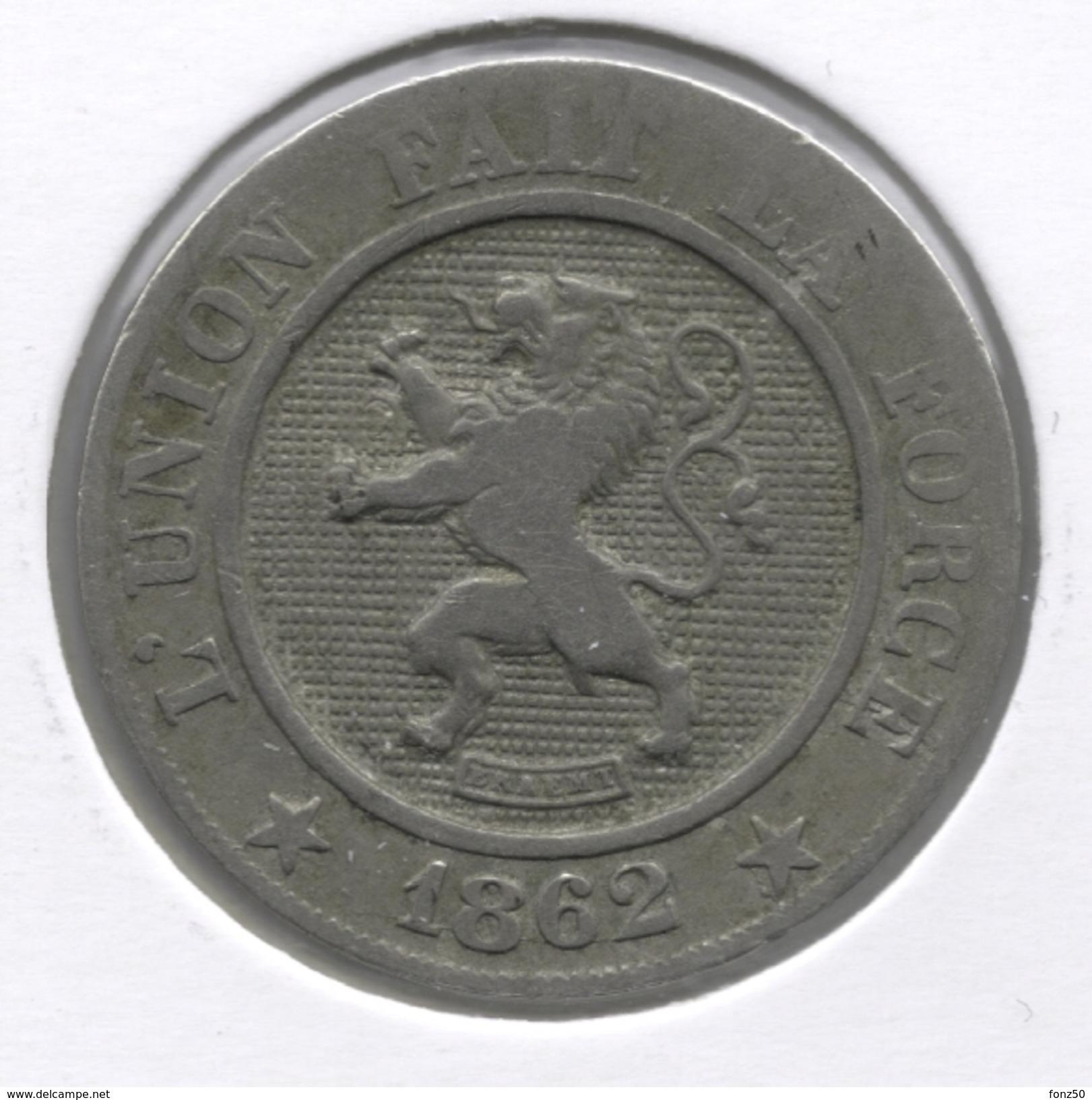 LEOPOLD I * 10 Centiem 1862 * Z.Fraai * Nr 6208 - 1831-1865: Léopold I