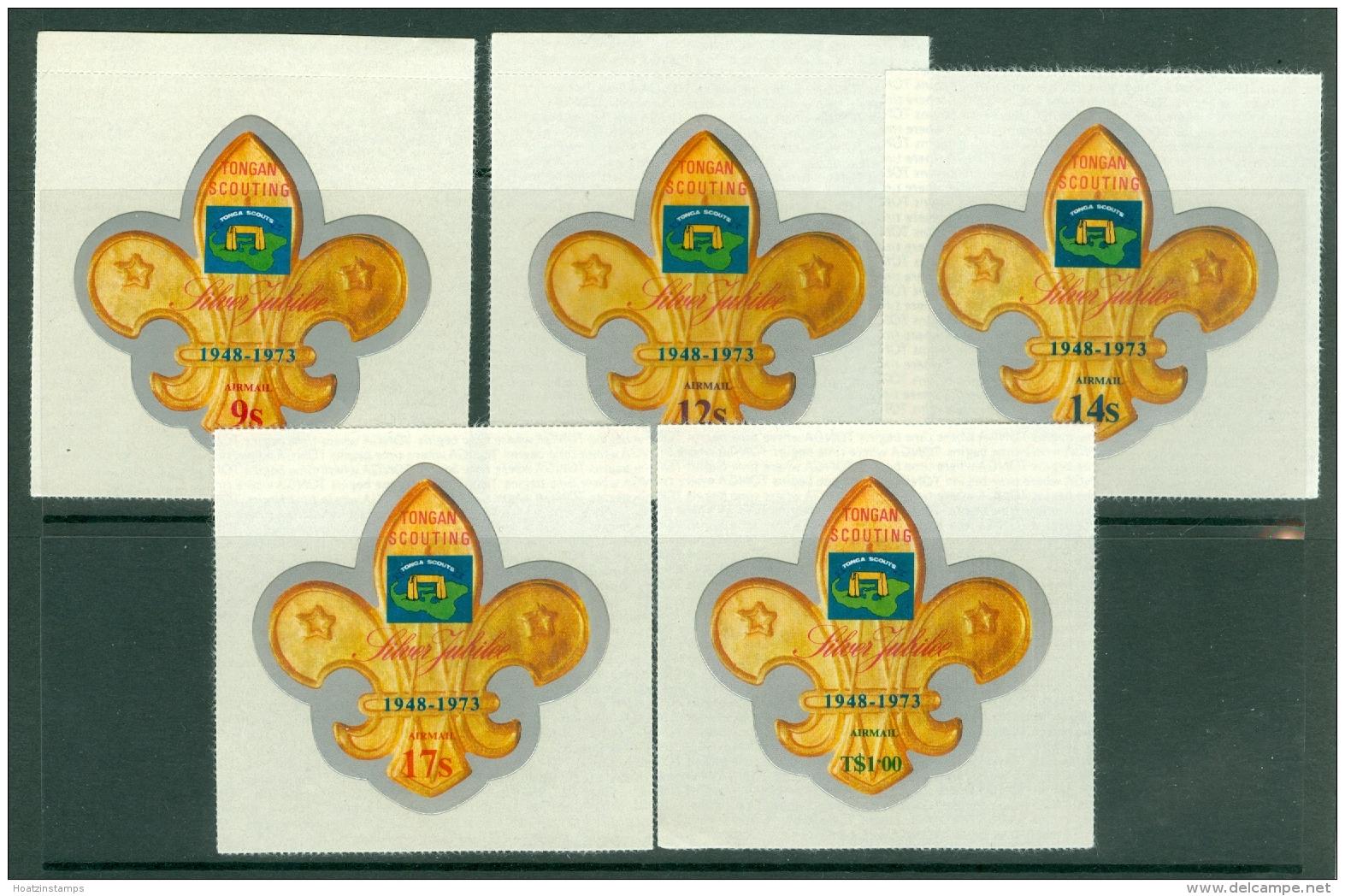 Tonga: 1973   Silver Jubilee Of Scouting In Tonga    SG449-458     MNH - Tonga (...-1970)