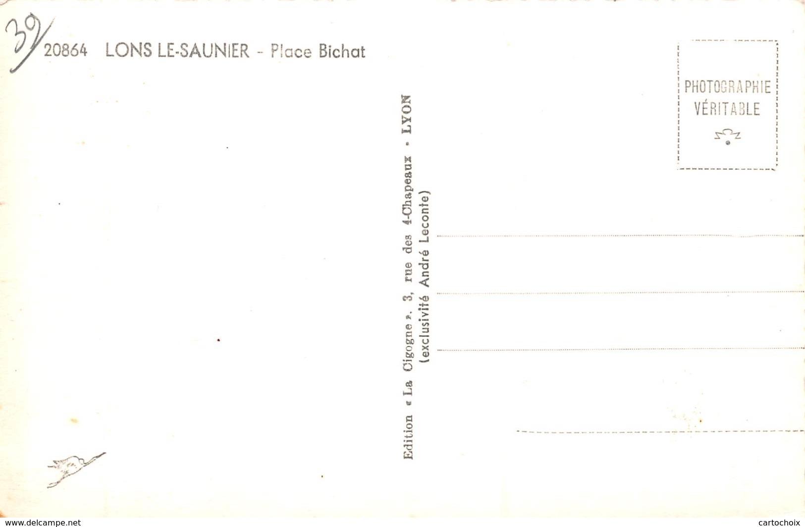 39 - Lons-le-Saunier - Place Bichat - Lons Le Saunier