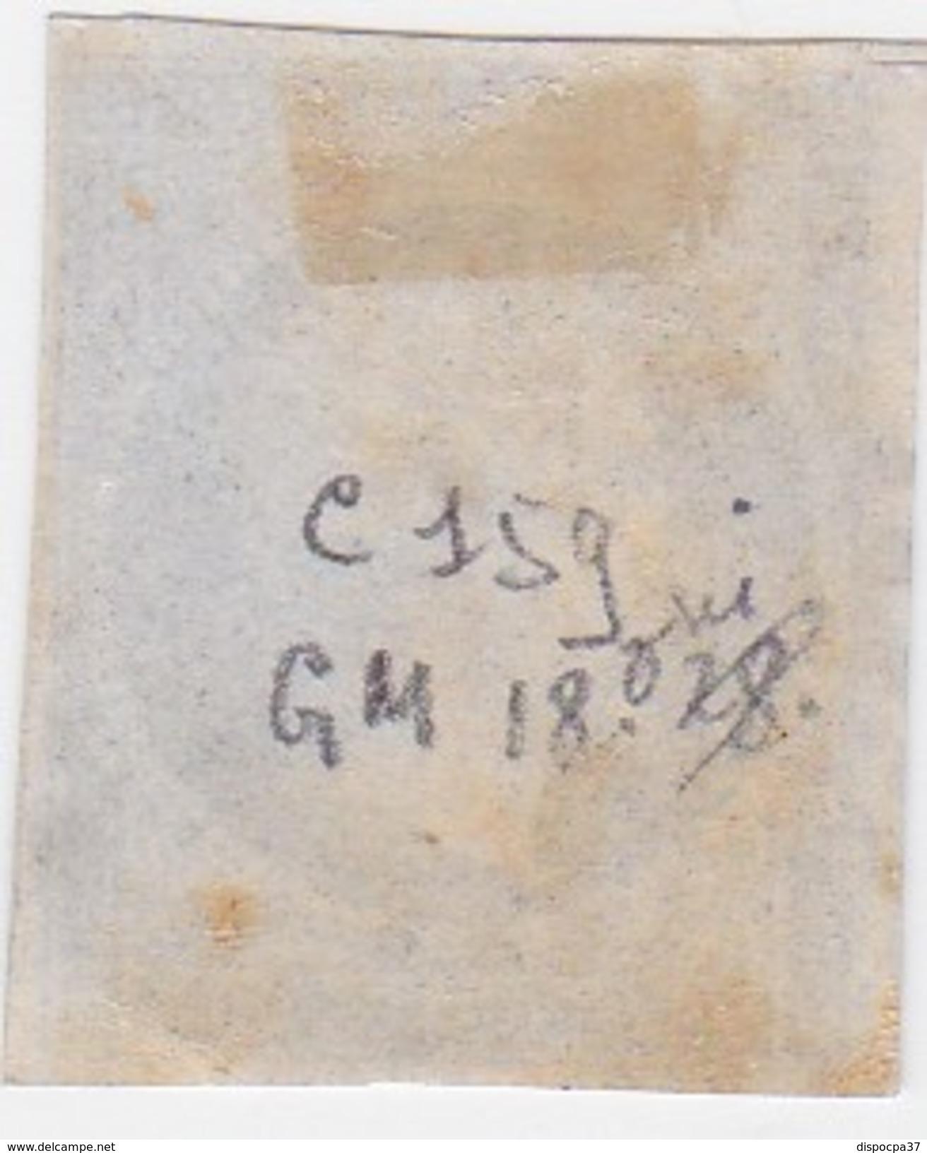 N° 14 A  PC  1127   DOUAI   /  NORD  - REF JC + Variété - 1853-1860 Napoleon III