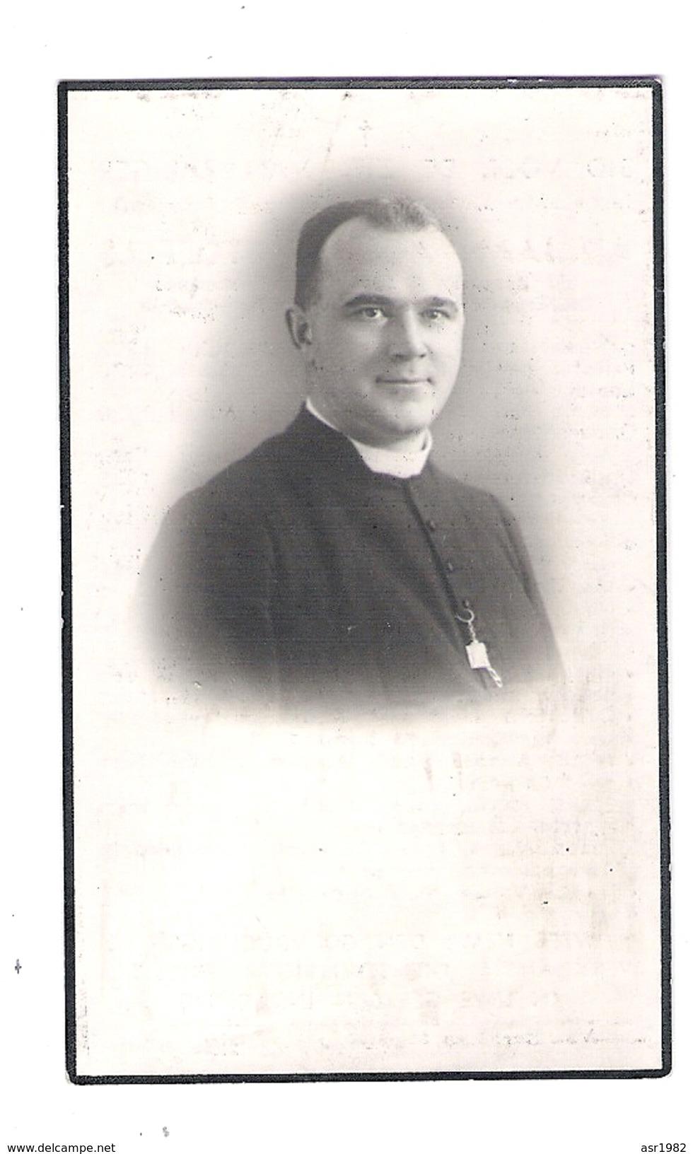 Doodsprentje Priester - Pastoor : Minderhout - Ottenburg - Stabroek -Antwerpen . - Religion & Esotericism