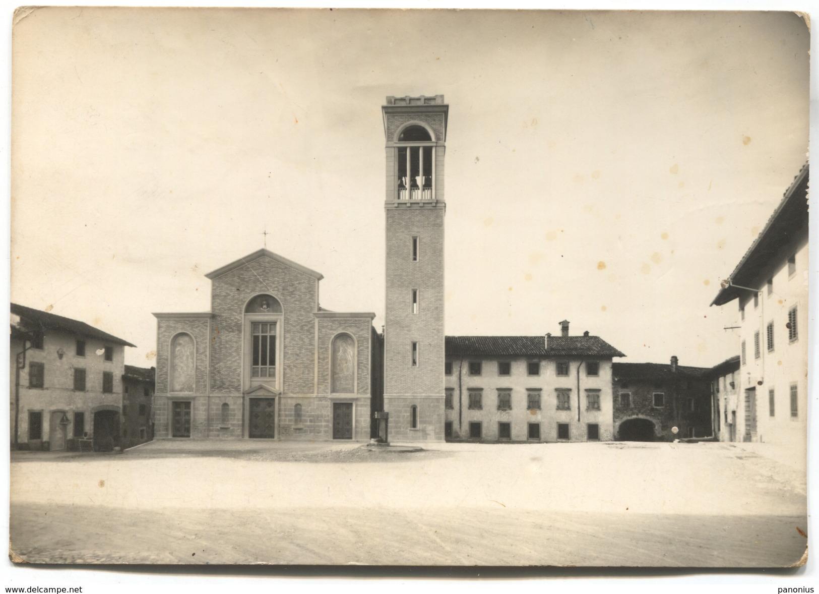 BUIA / UDINE - ITALY, CHIESA, PORTO - Udine