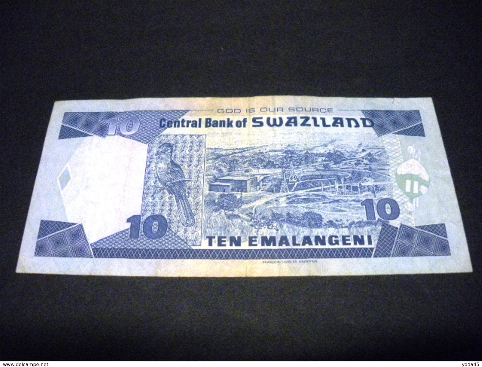 SWAZILAND 10 Emalangeni 01/04/2004 , Pick N° 29 B , SWAZILAND - Swaziland